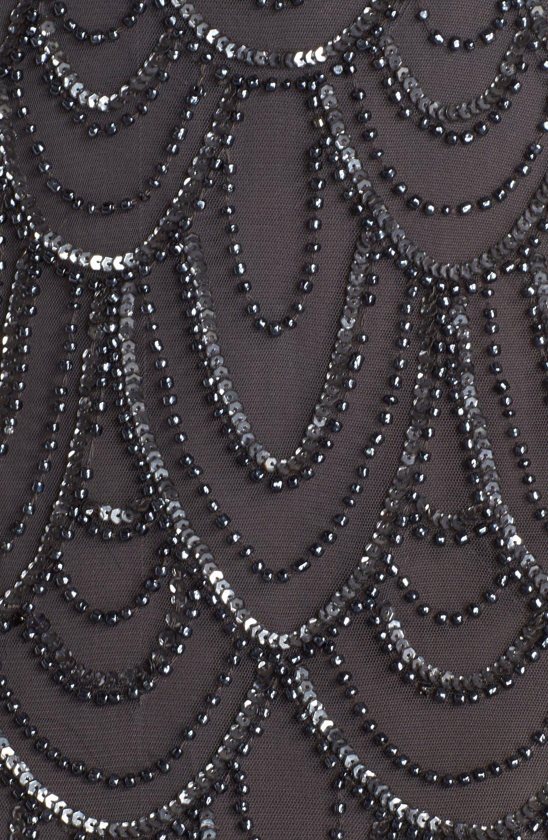 Beaded Sheath Dress,                             Alternate thumbnail 40, color,