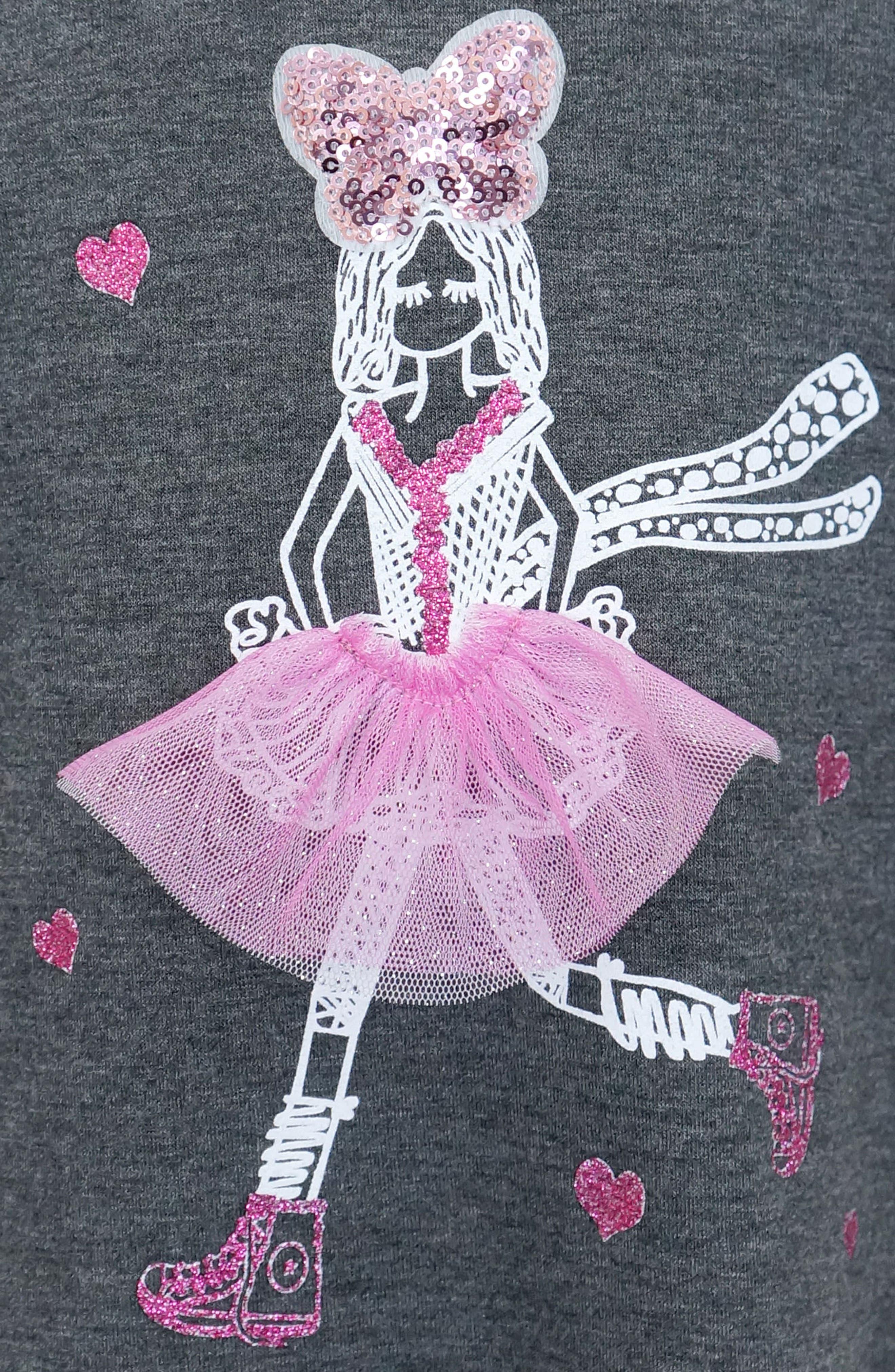 Dimensional Graphic Dress,                             Alternate thumbnail 3, color,                             021