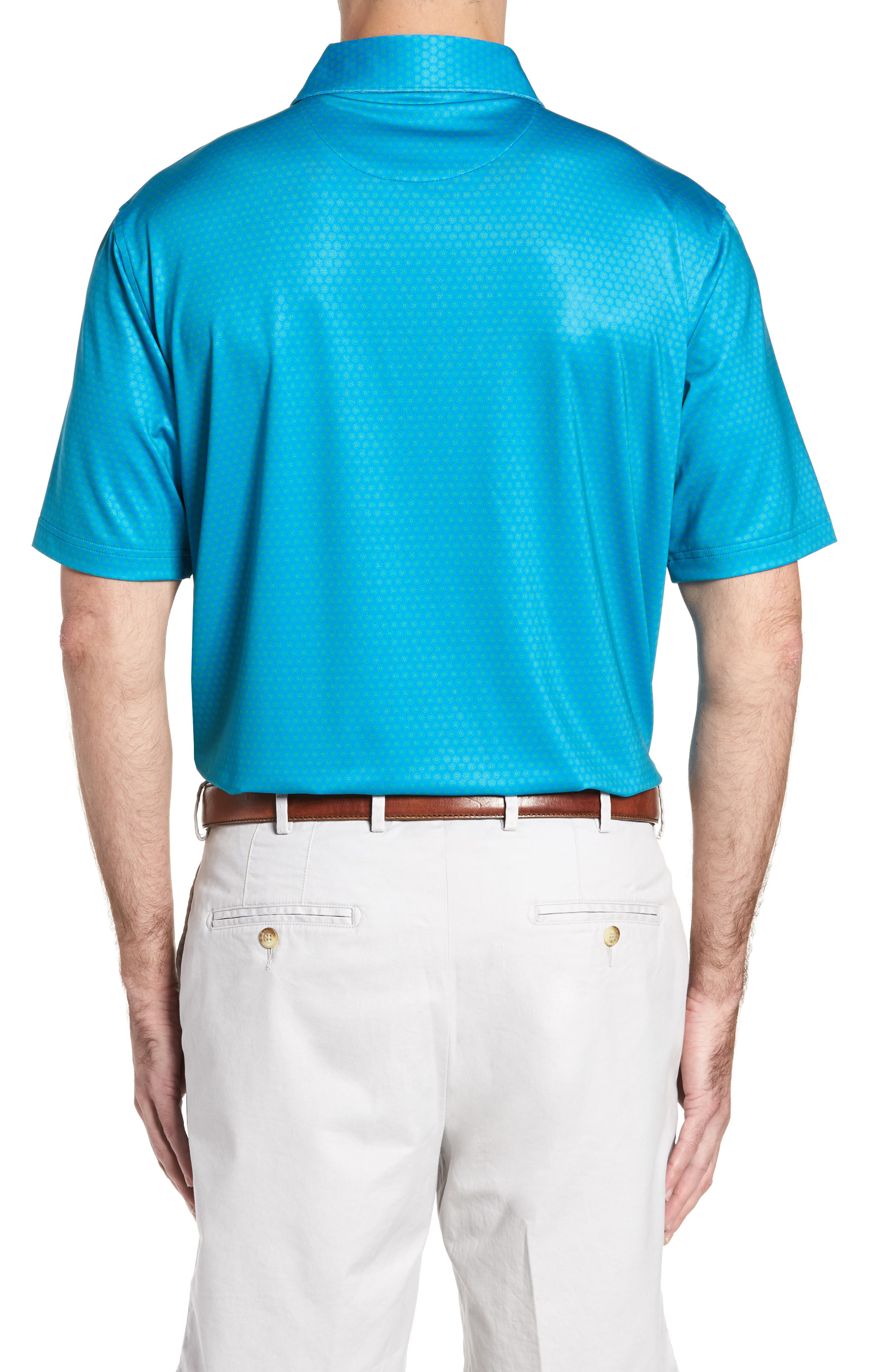 Sean Mata Sunburst Stretch Jersey Polo,                             Alternate thumbnail 2, color,                             403