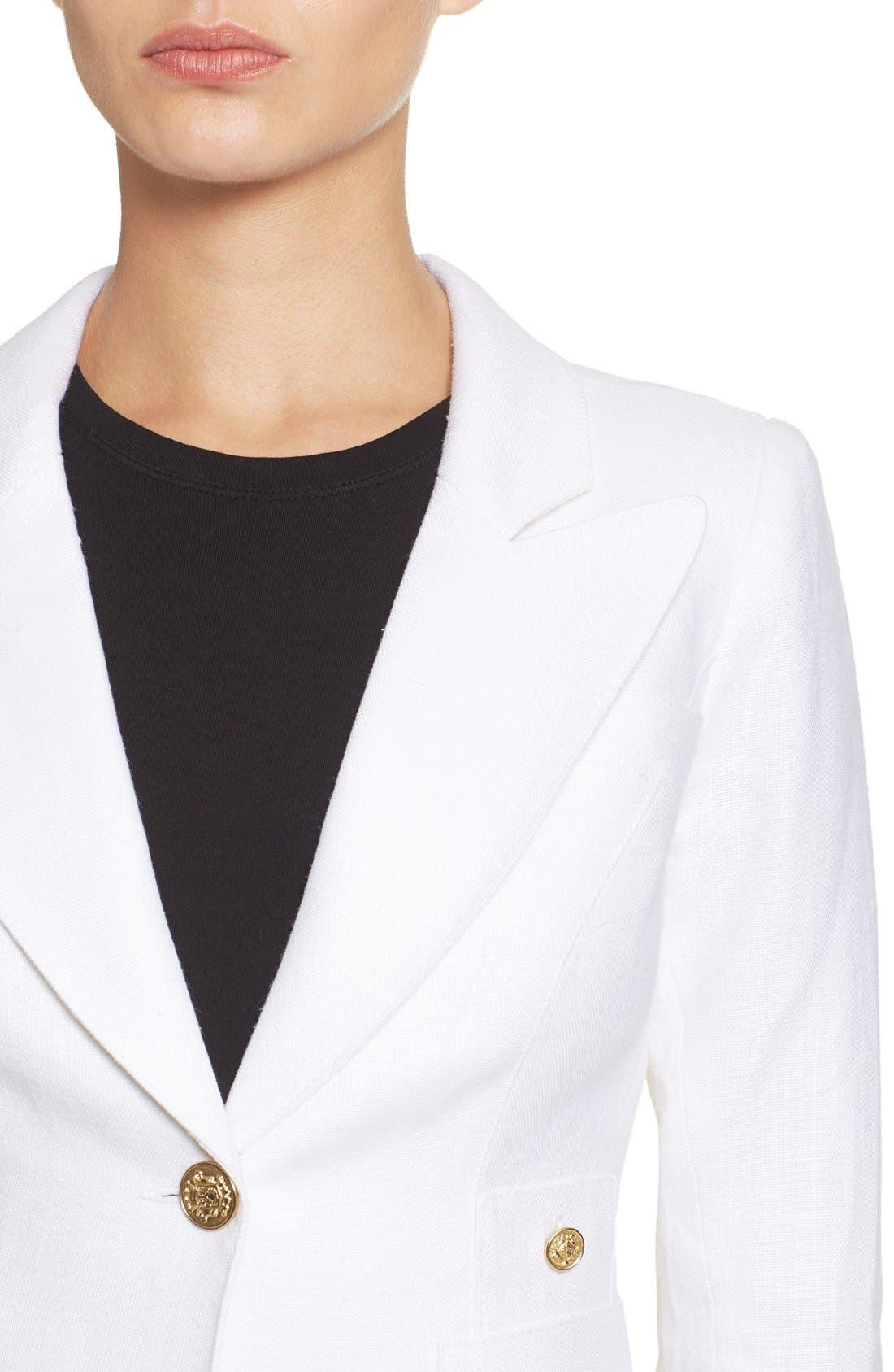 'Duchess' Single Button Blazer,                             Alternate thumbnail 15, color,