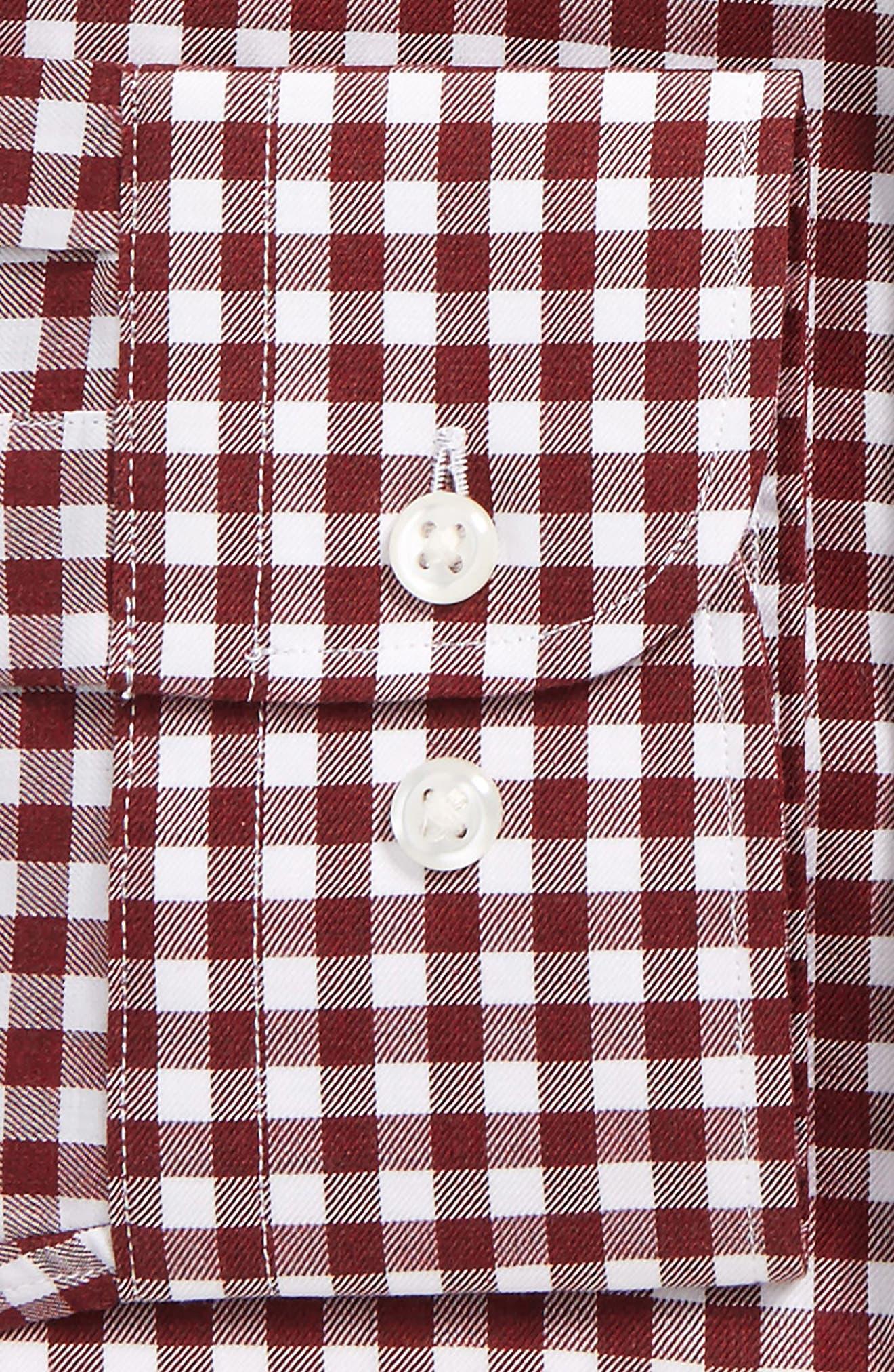 Extra Trim Fit Check Dress Shirt,                             Alternate thumbnail 2, color,                             601