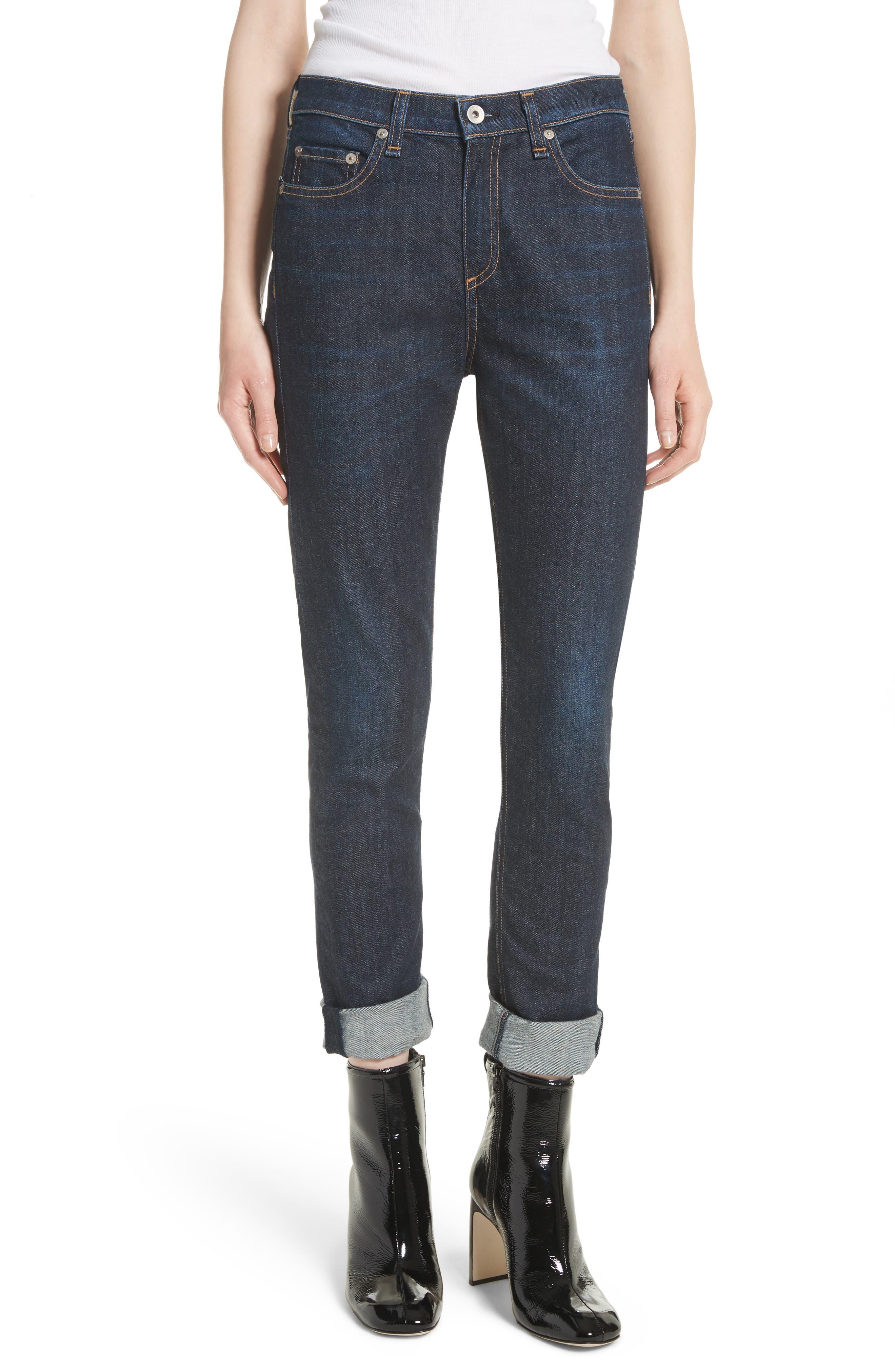The Dre Slim Boyfriend Jeans,                         Main,                         color, 425
