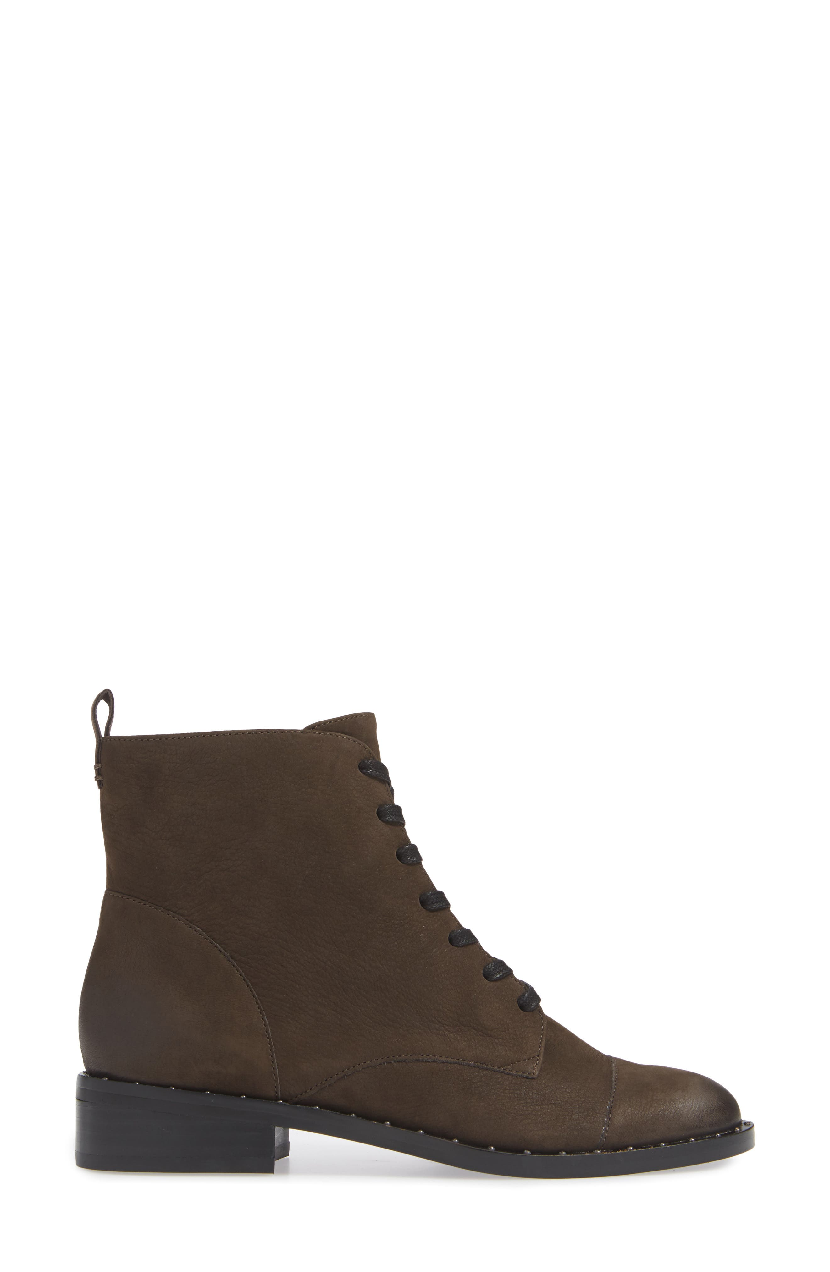 Layla Boot,                             Alternate thumbnail 3, color,                             ANTHRACITE LEATHER