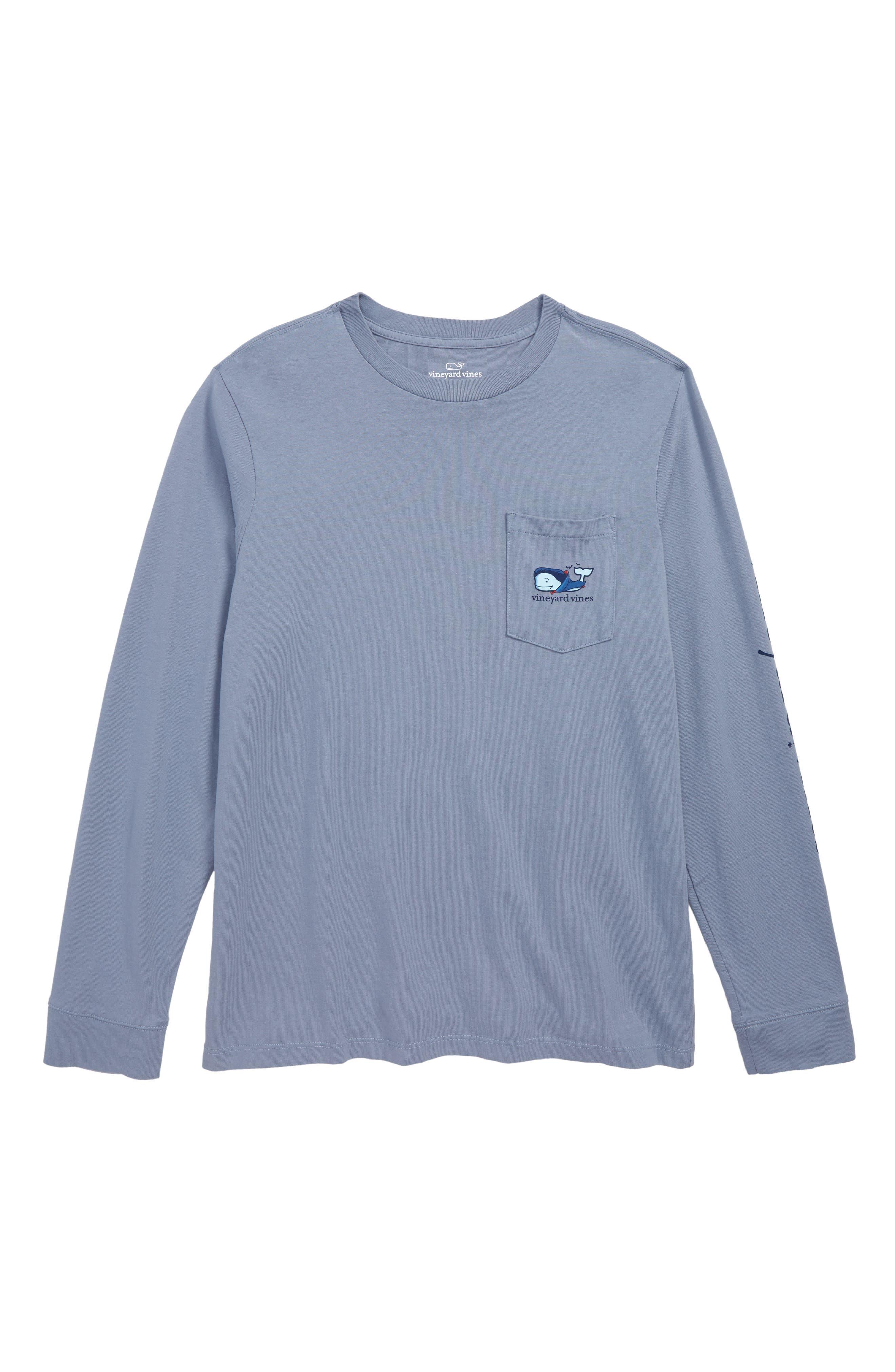 Vampire Whale Pocket T-Shirt,                             Main thumbnail 1, color,                             400