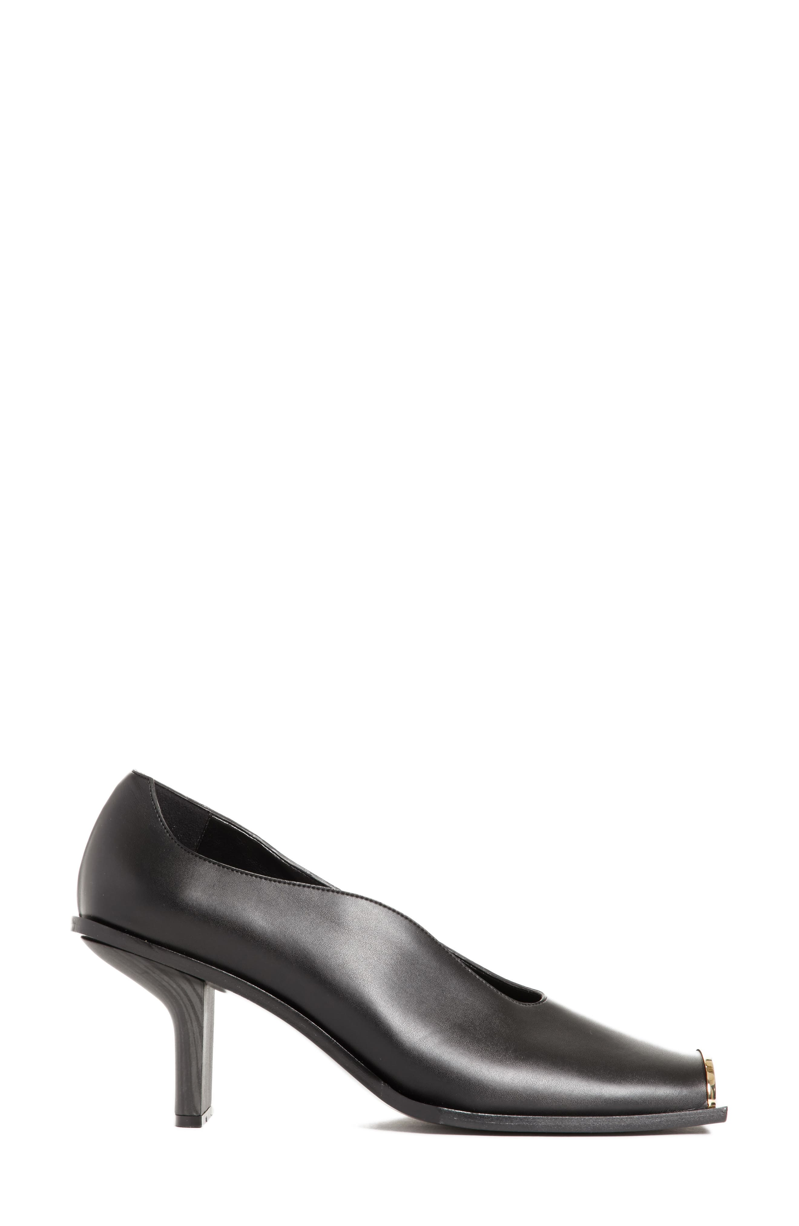 Cap Toe Pump,                             Alternate thumbnail 3, color,                             001