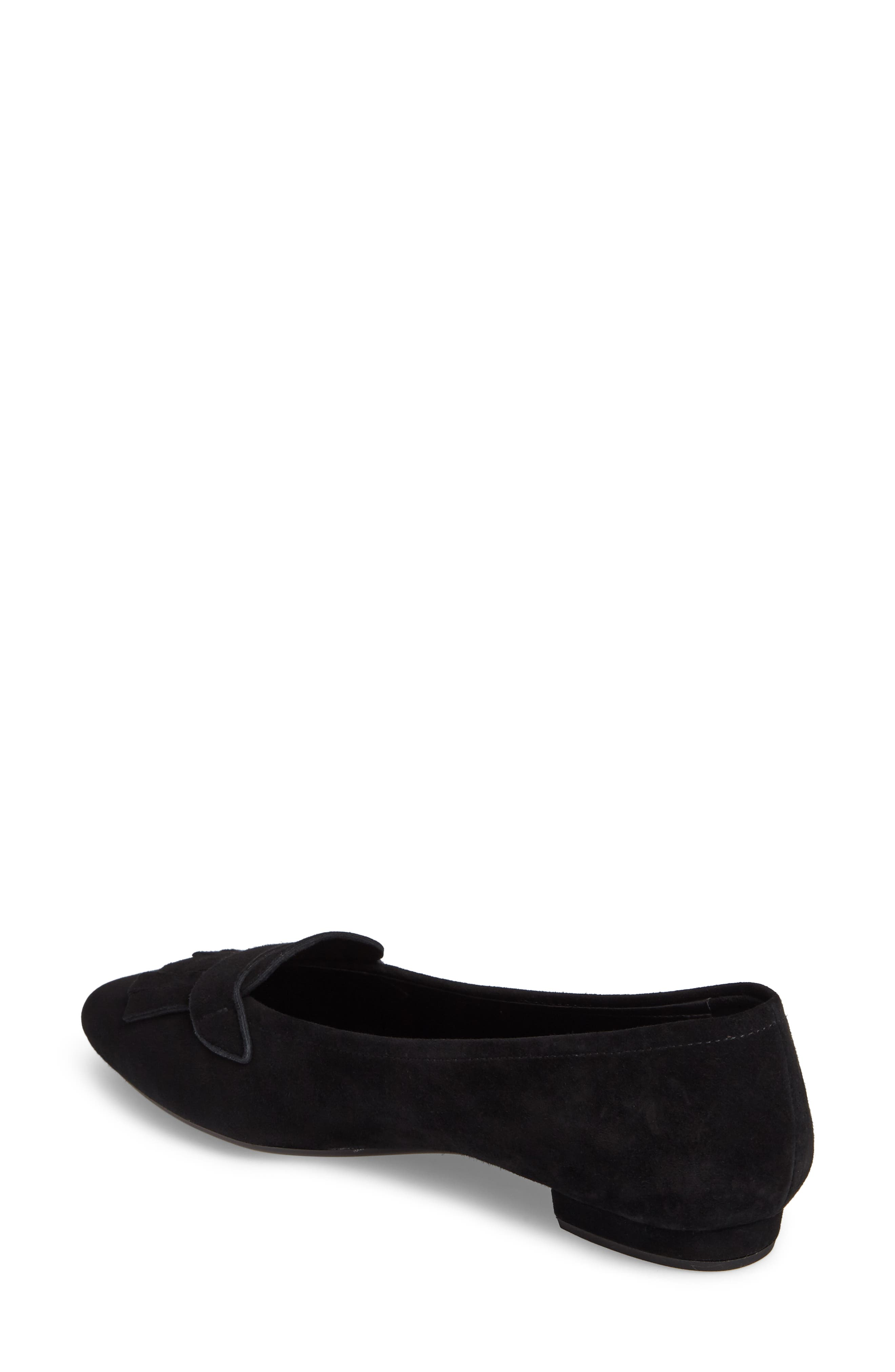 Gaea Loafer Flat,                             Alternate thumbnail 2, color,                             001