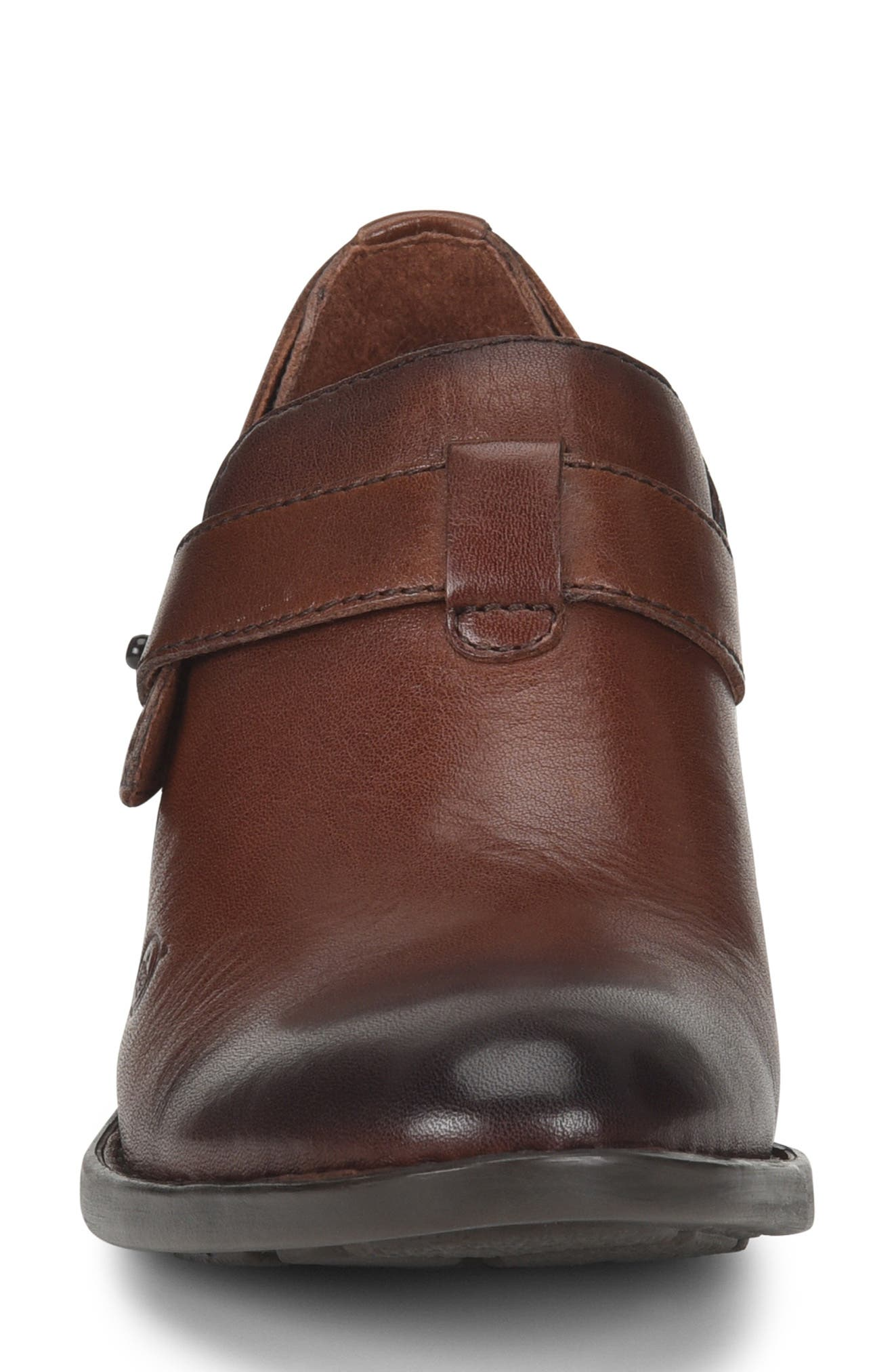 Timmons Bootie,                             Alternate thumbnail 4, color,                             BROWN LEATHER