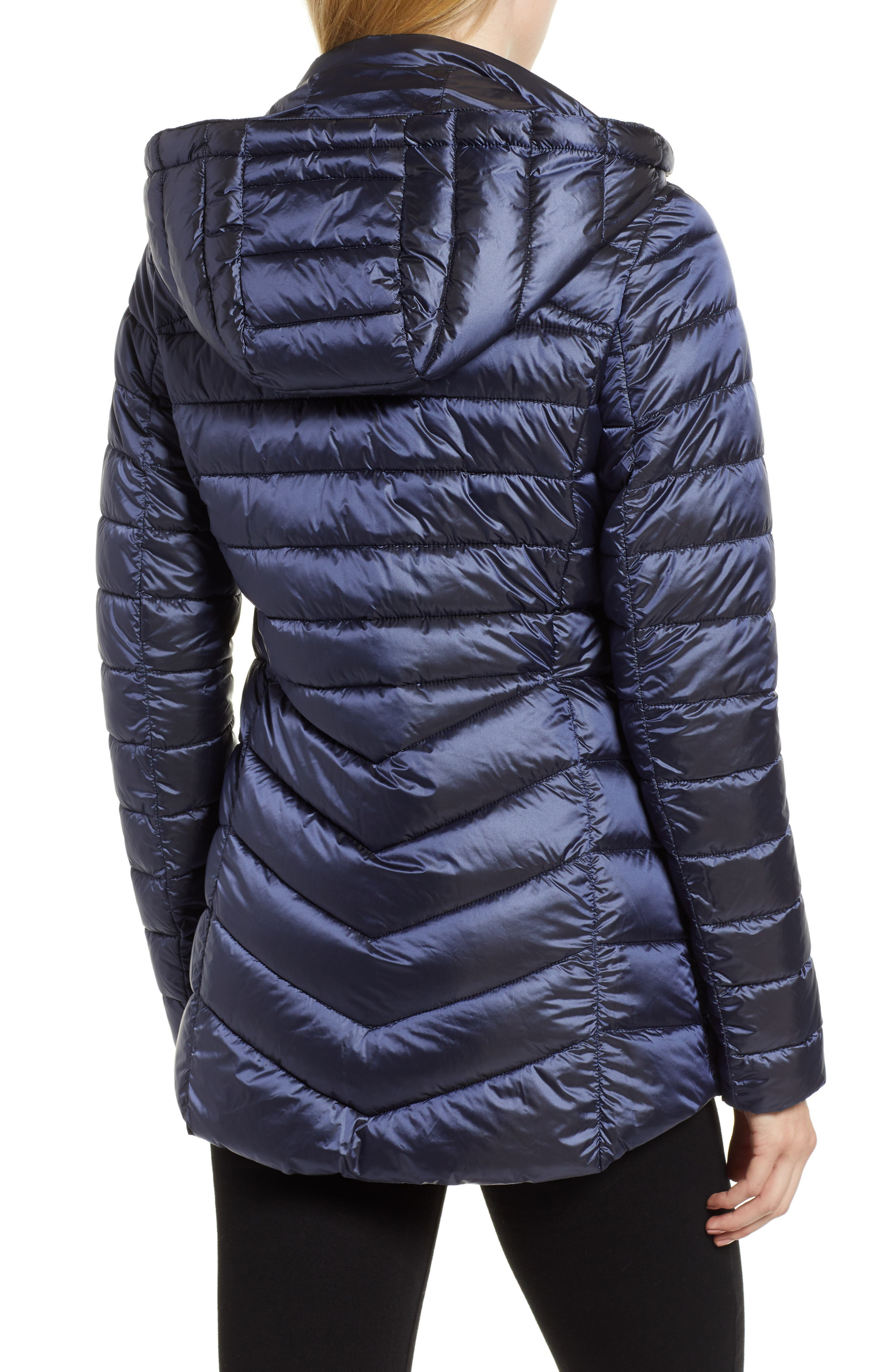 Ailith Quilted Jacket,                             Alternate thumbnail 2, color,                             ROYAL NAVY