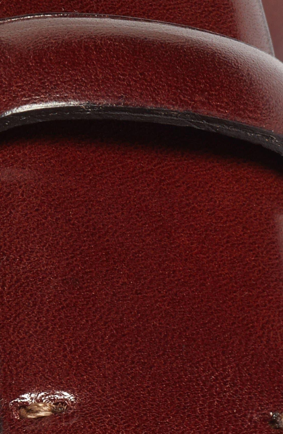 Leather Belt,                             Alternate thumbnail 2, color,                             201