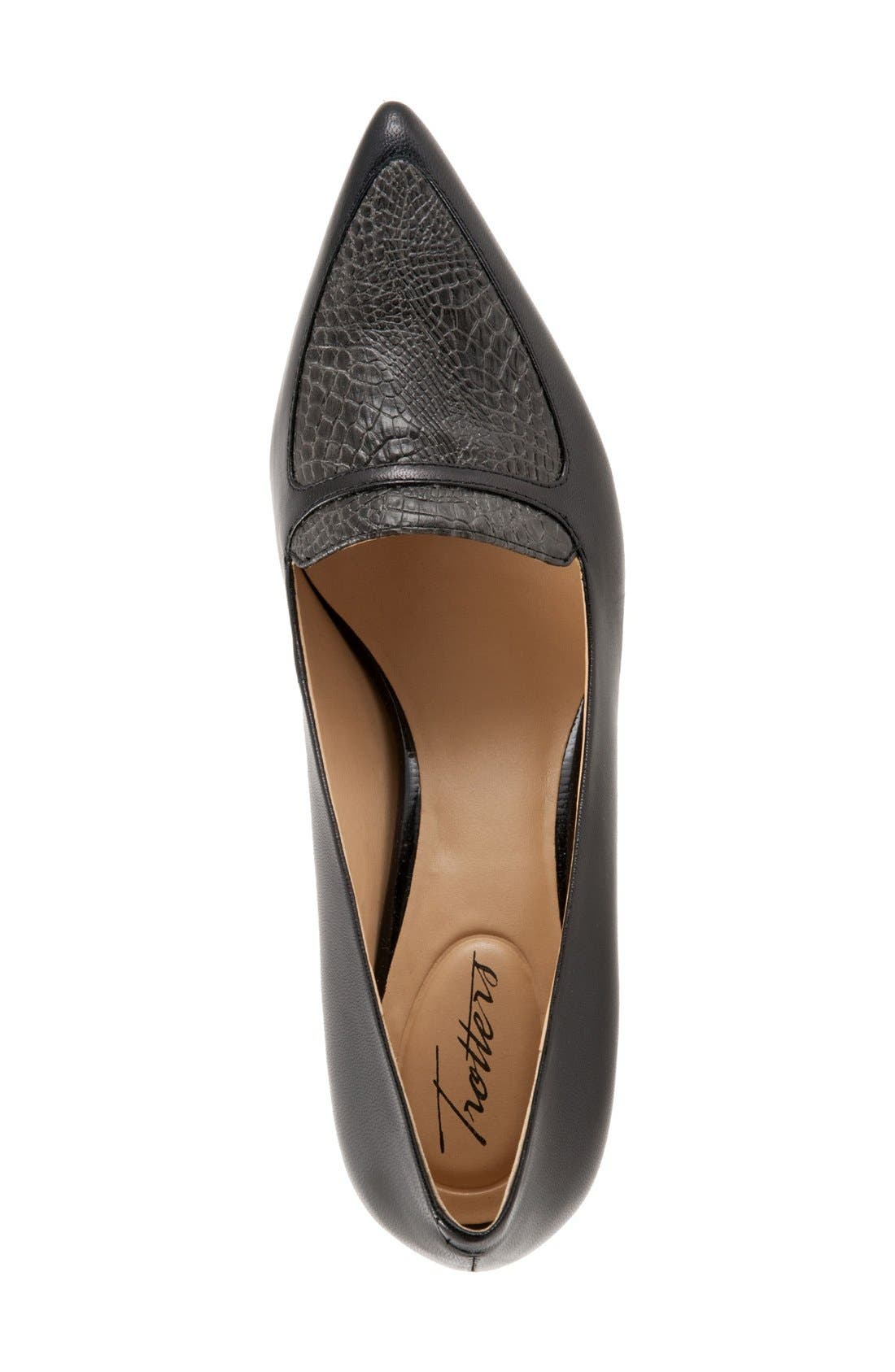 'Piper' Pointy Toe Pump,                             Alternate thumbnail 14, color,