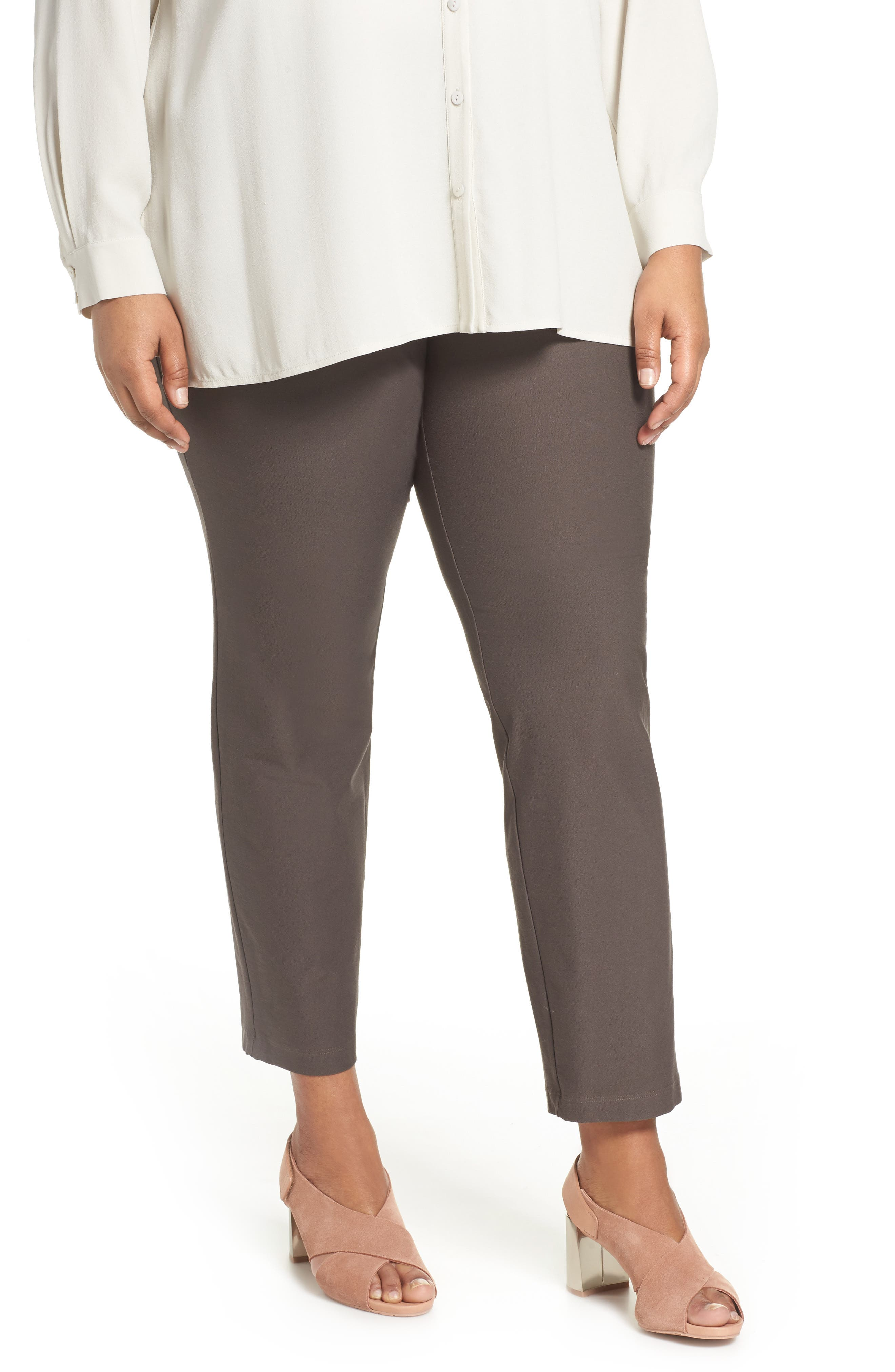 Slim Washable Stretch Crepe Ankle Pants,                             Main thumbnail 2, color,