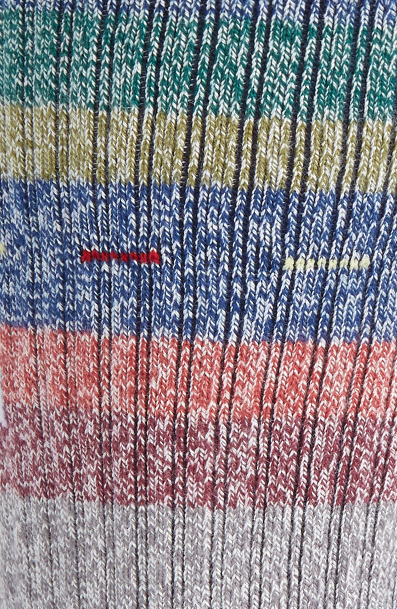 Vaucluse Stripe Socks,                             Alternate thumbnail 2, color,                             410