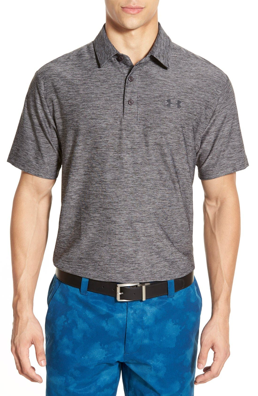 'Playoff' Loose Fit Short Sleeve Polo,                             Main thumbnail 14, color,