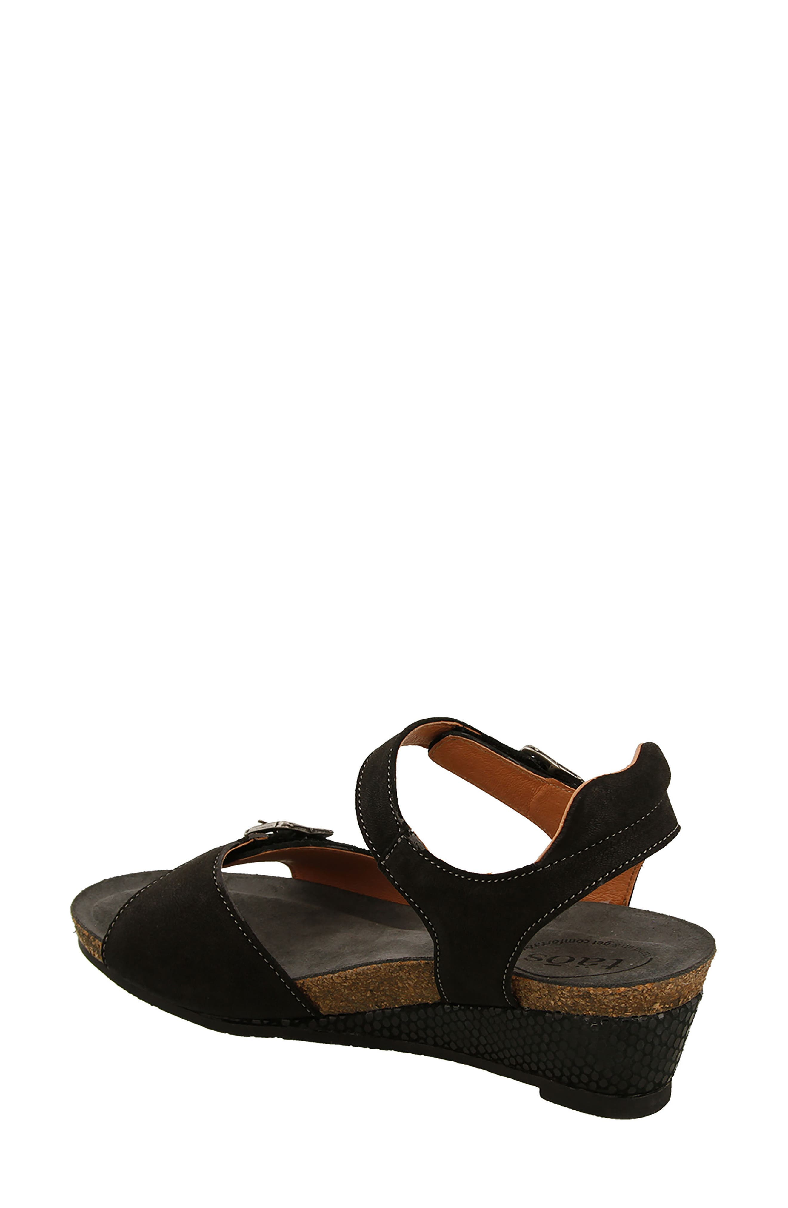 Traveler Wedge Sandal,                             Alternate thumbnail 2, color,                             002