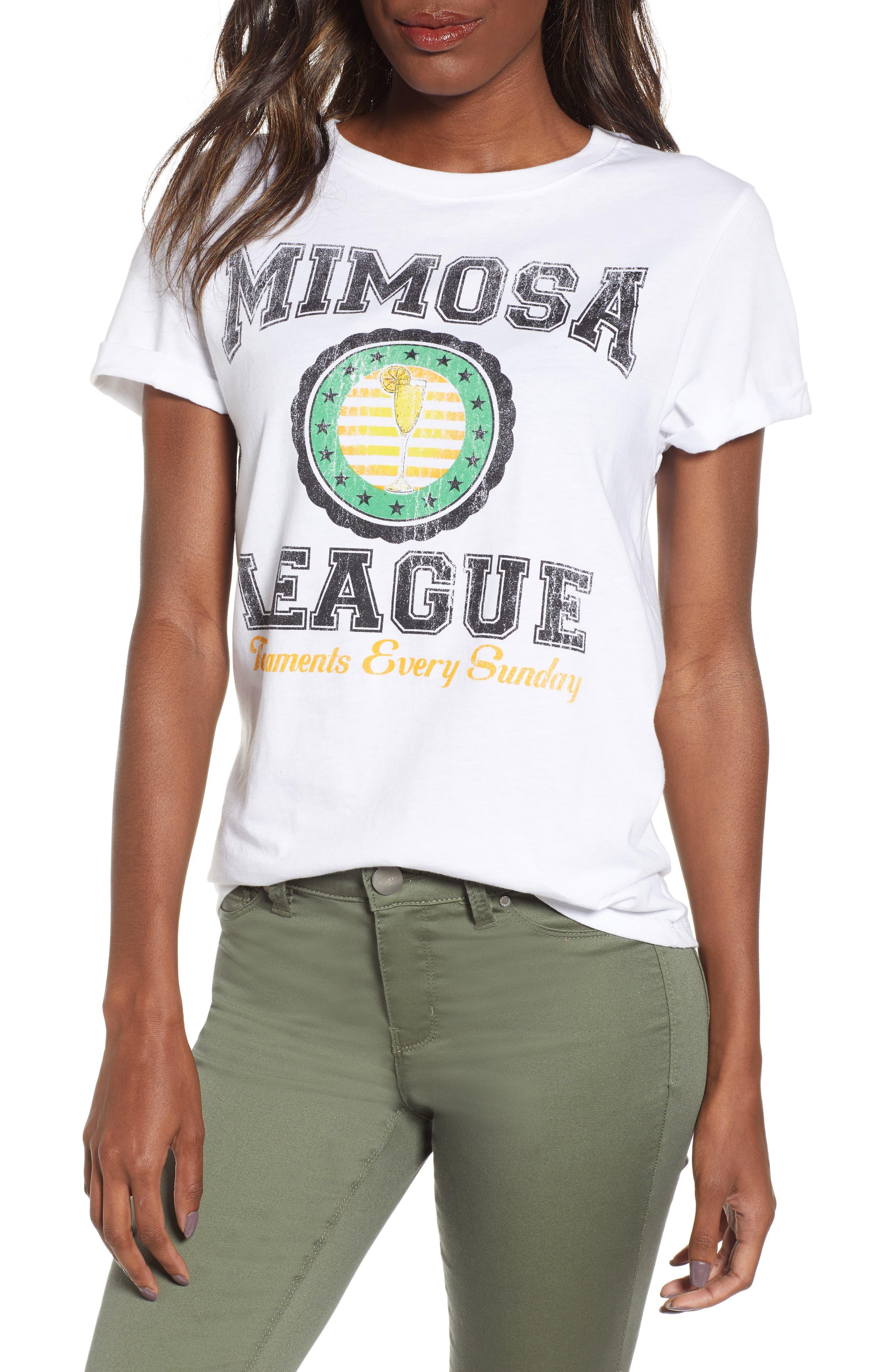 PRINCE PETER,                             Mimosa League Tee,                             Main thumbnail 1, color,                             WHITE
