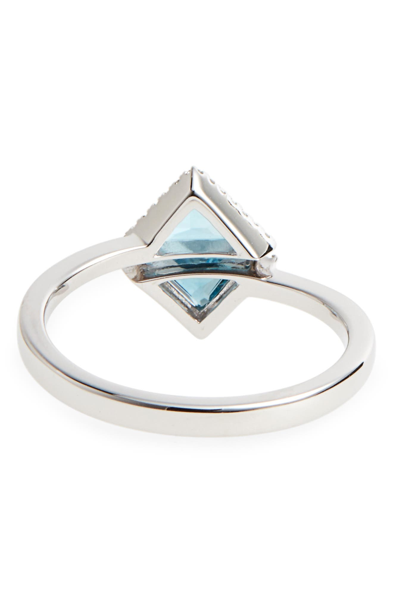 Iris Double Triangle Diamond & Semiprecious Stone Ring,                             Alternate thumbnail 4, color,                             710