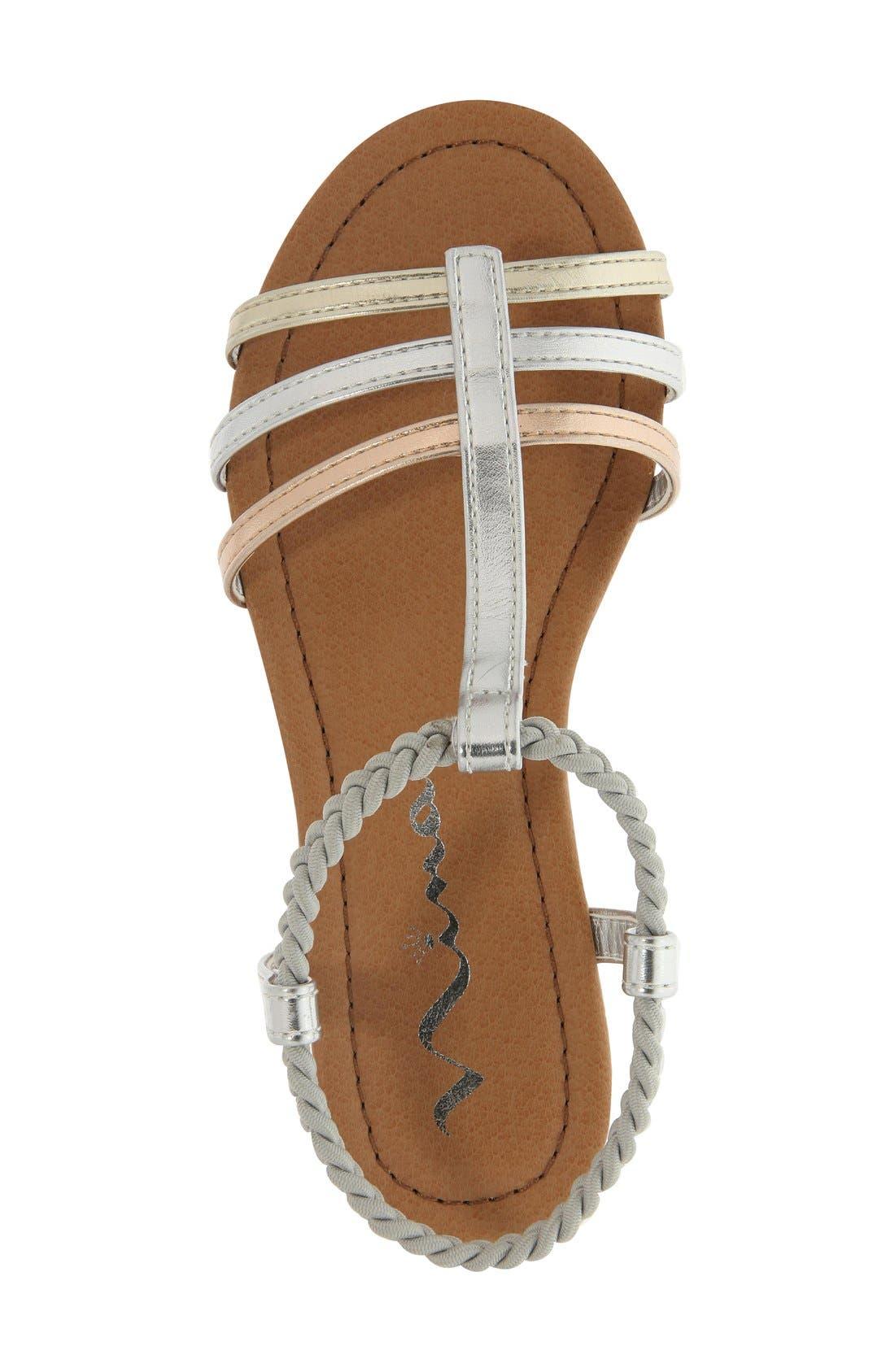 'Melvie' Sandal,                             Alternate thumbnail 10, color,                             049