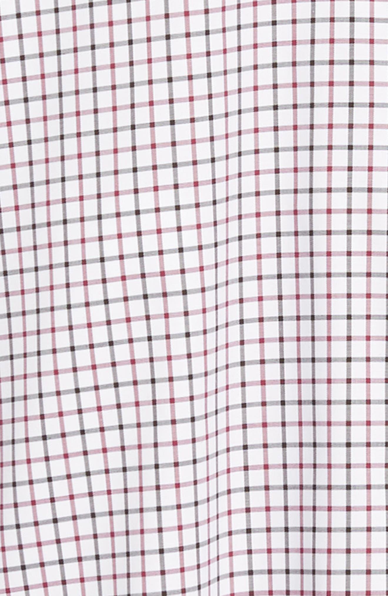 Crown Ease Malta Regular Fit Tattersall Sport Shirt,                             Alternate thumbnail 6, color,                             688
