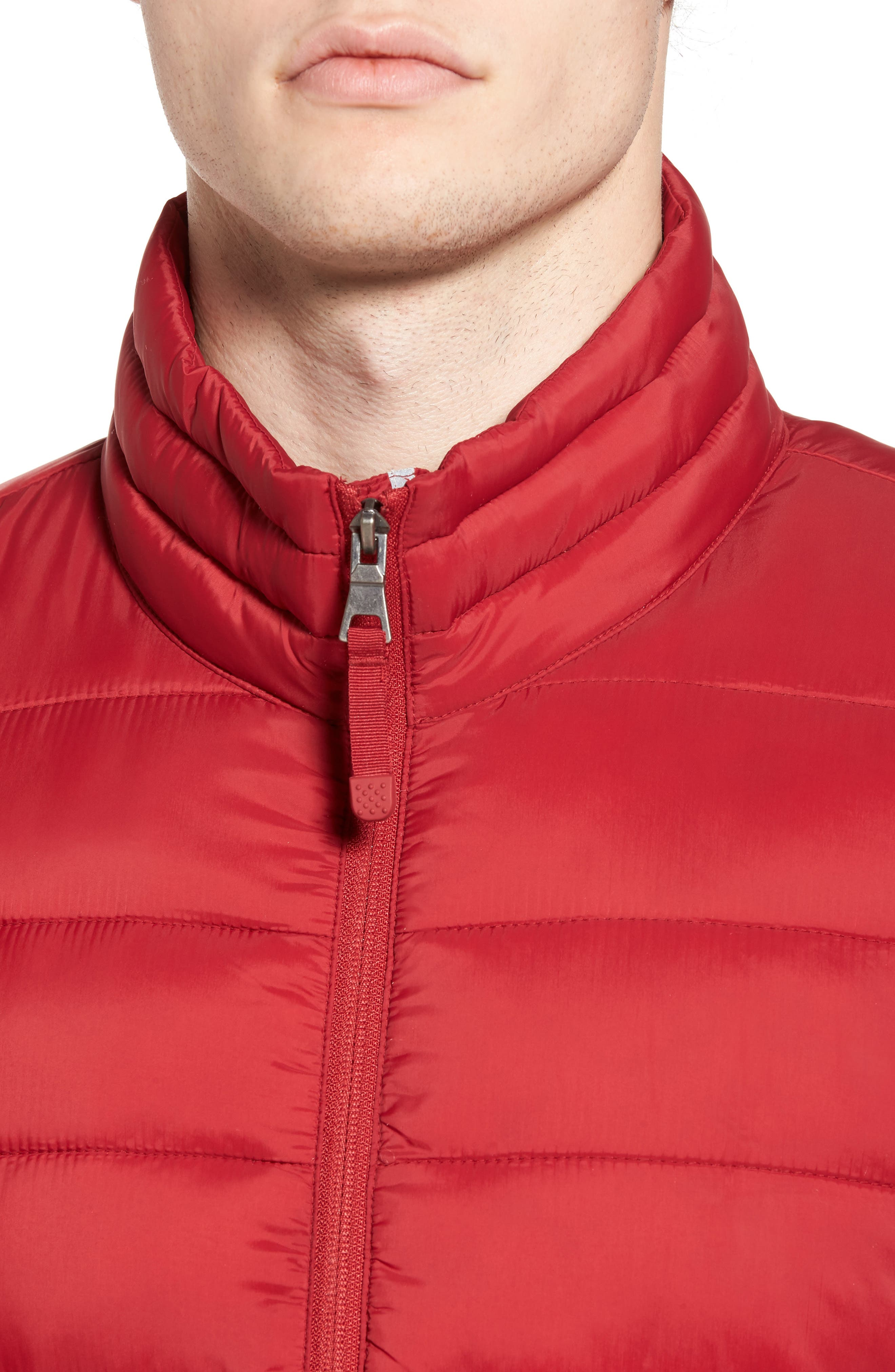 Water Resistant Packable Puffer Jacket,                             Alternate thumbnail 16, color,