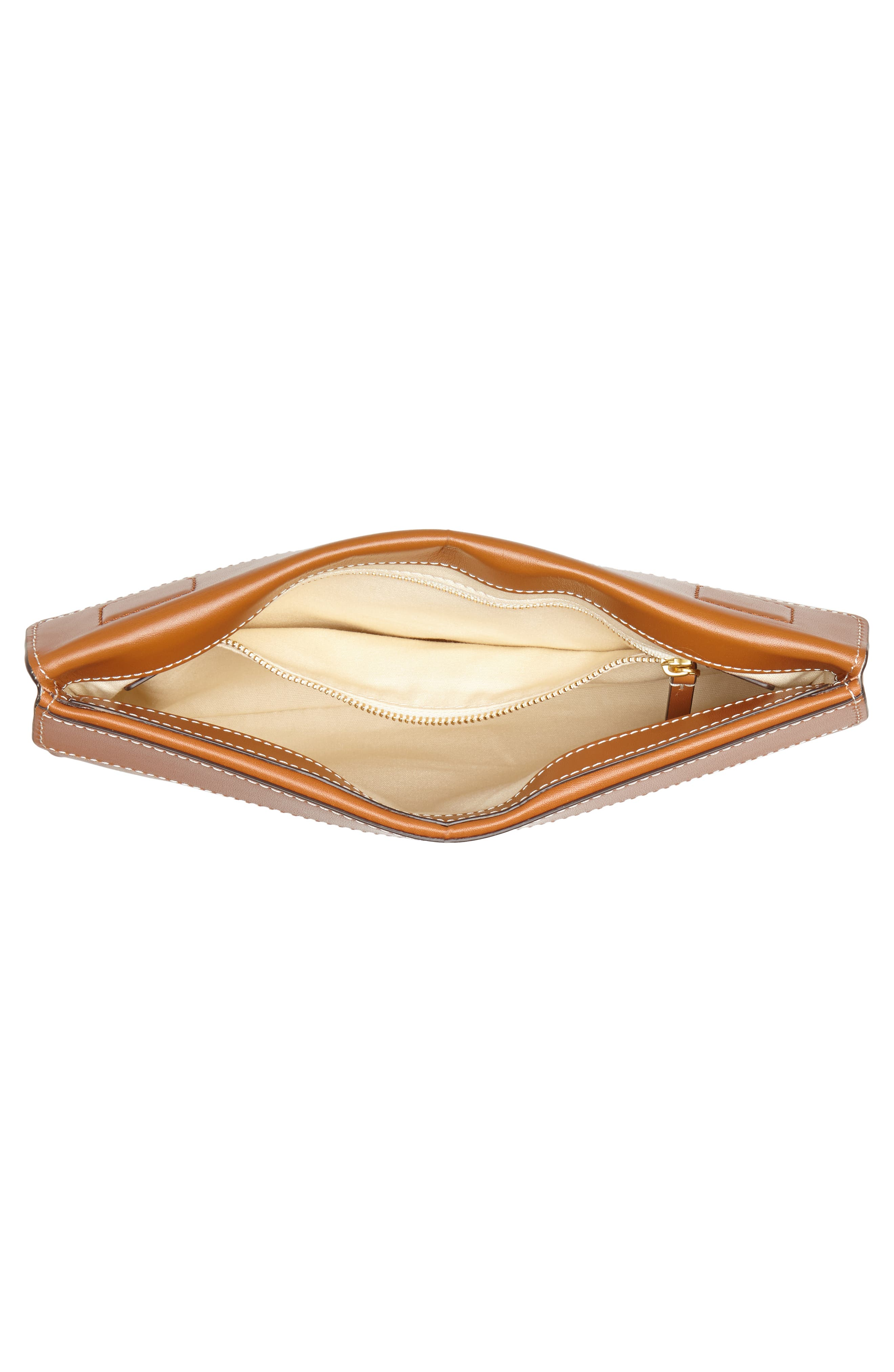 Miller Leather Clutch,                             Alternate thumbnail 11, color,