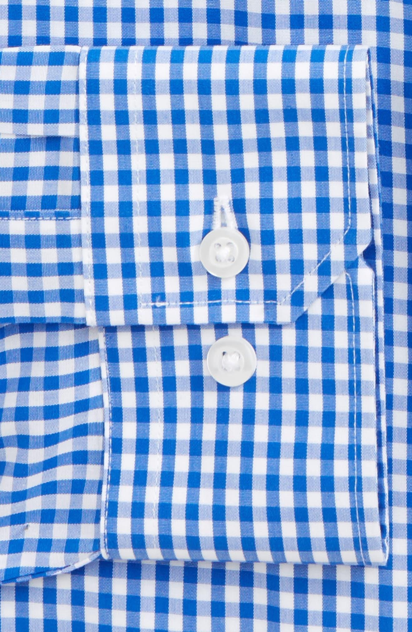 Standard Fit Check Dress Shirt,                             Alternate thumbnail 2, color,                             CLASSIC BLUE