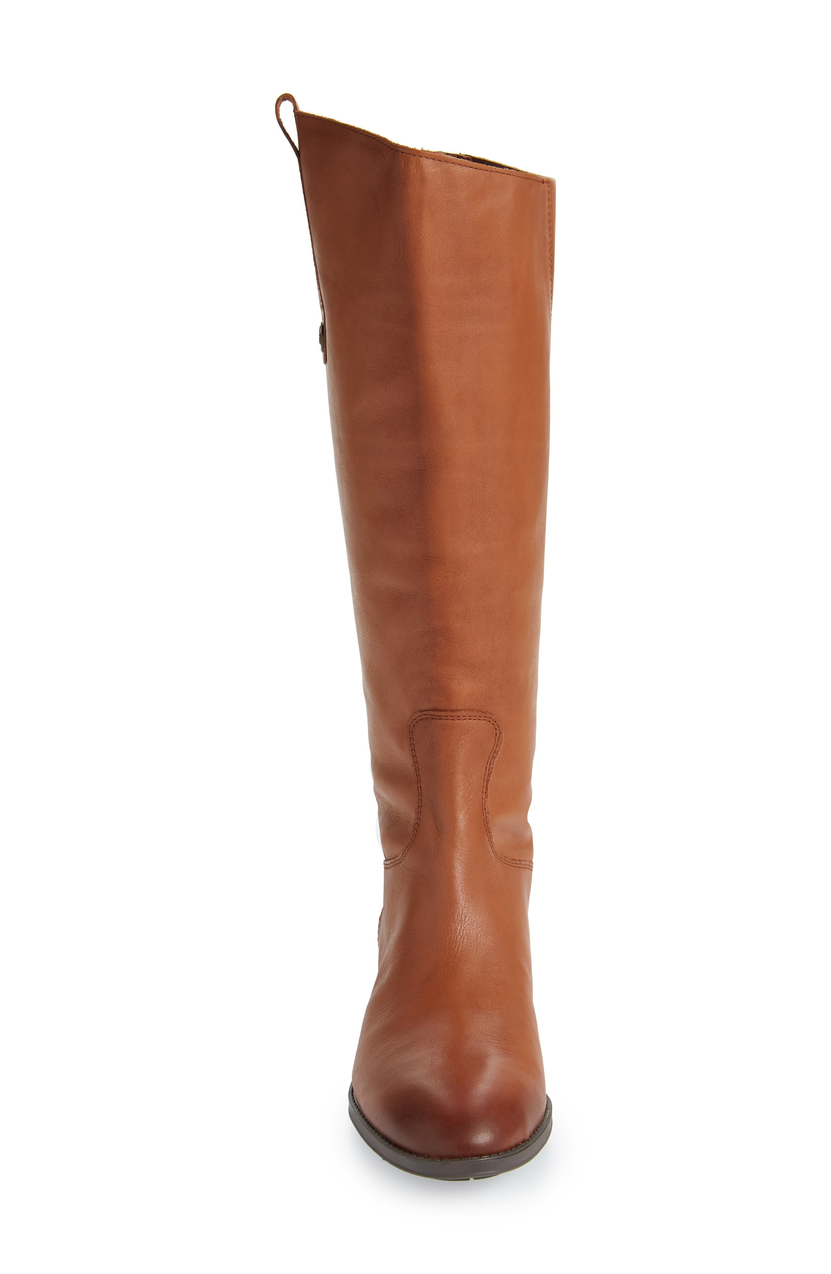 'Penny' Boot,                             Alternate thumbnail 5, color,                             WHISKEY WIDE CALF
