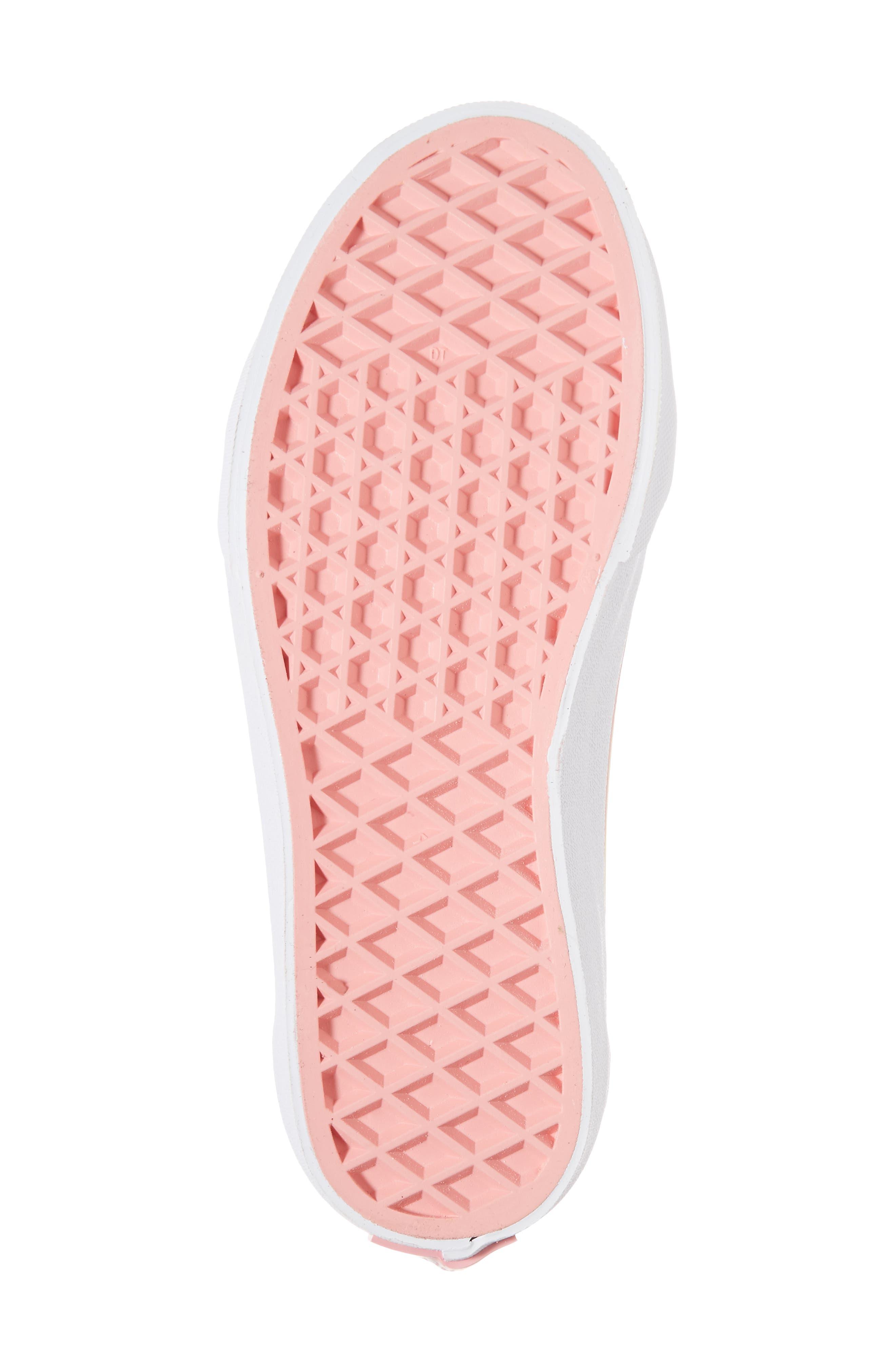 Sk8-Hi Zip Unicorn Glitter High Top Sneaker,                             Alternate thumbnail 12, color,