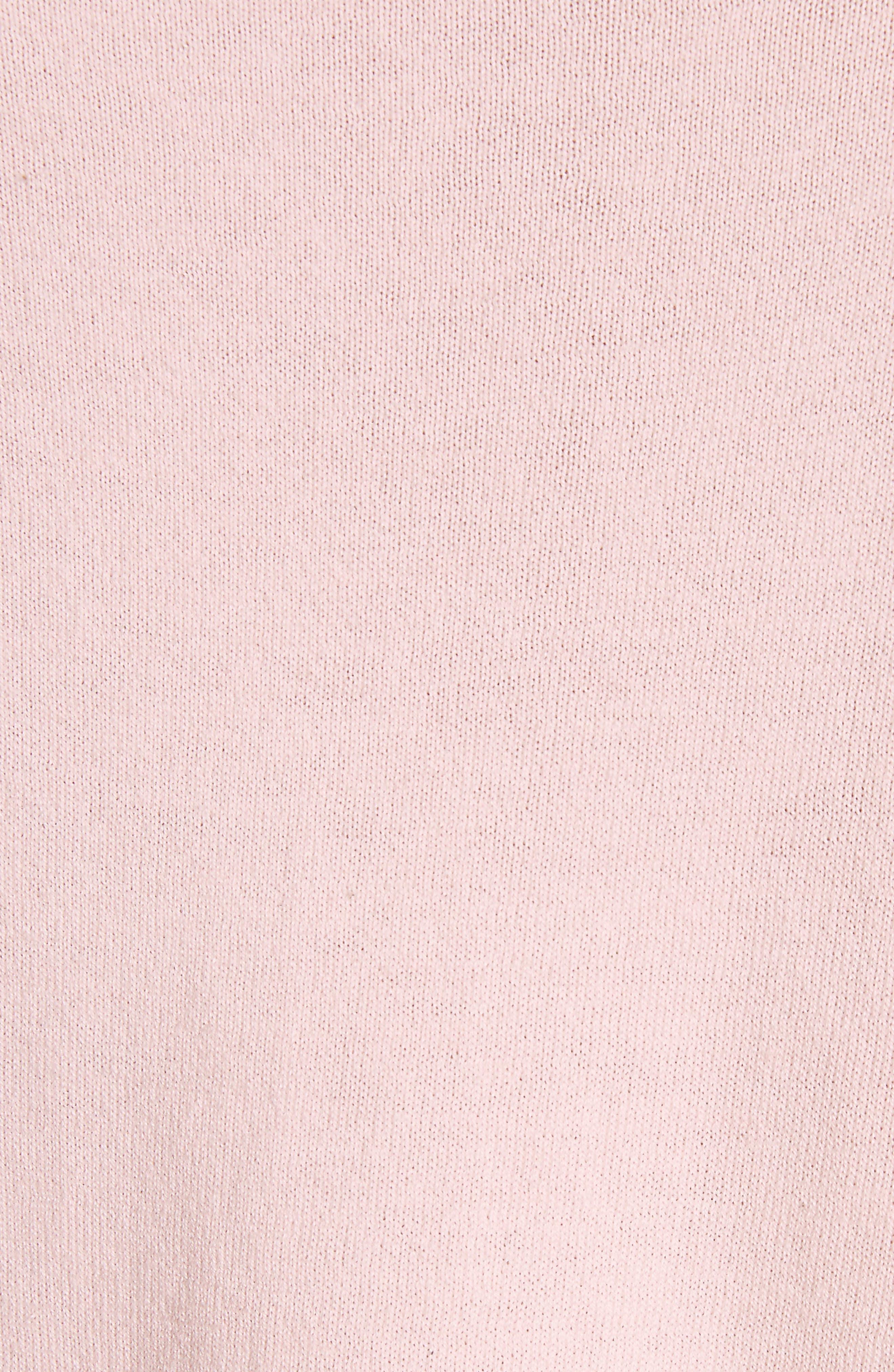 Paari Silk & Cashmere Sweater,                             Alternate thumbnail 5, color,