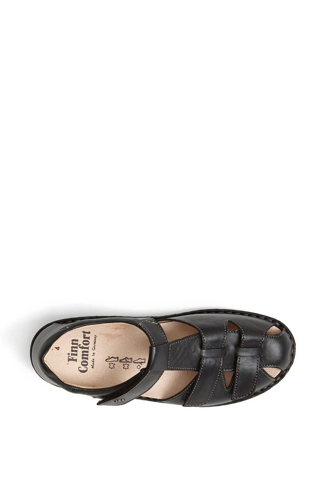 'Funnen' Sandal,                             Alternate thumbnail 3, color,                             BLACK