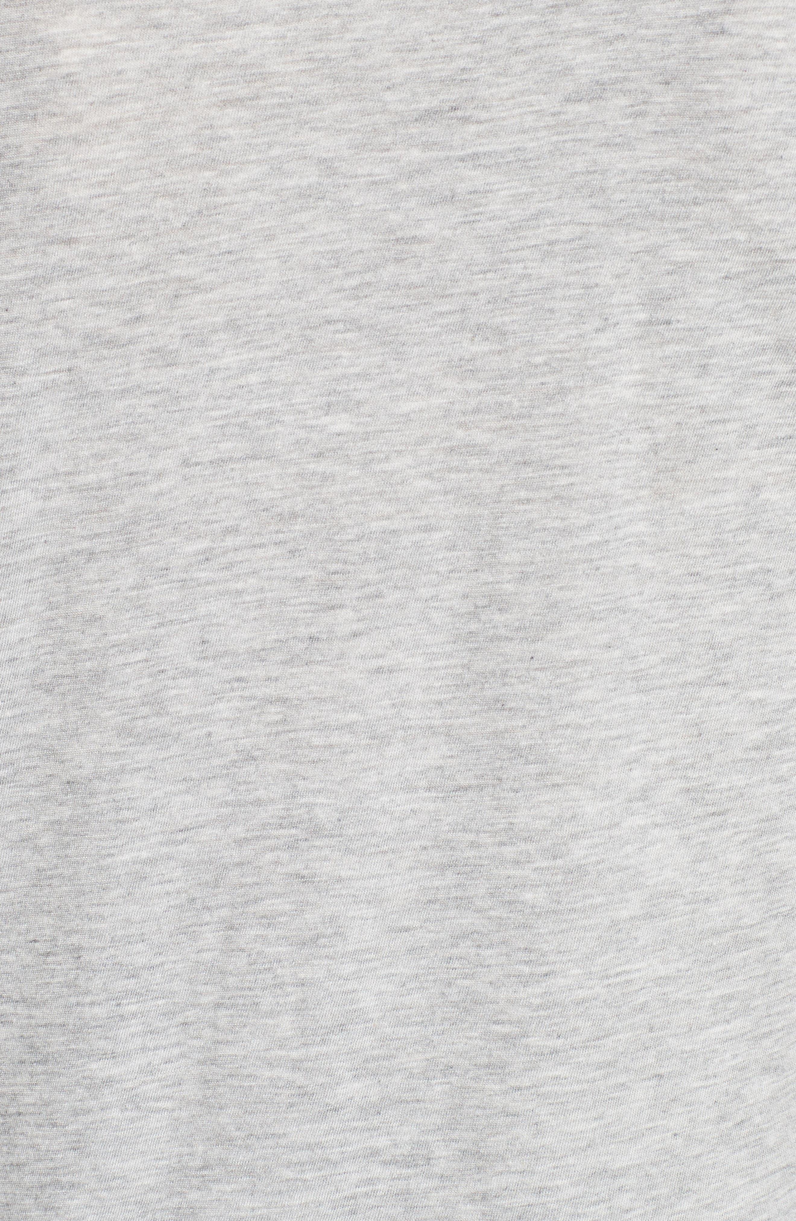 Foil Logo Flutter Sleeve Tee,                             Alternate thumbnail 5, color,                             052