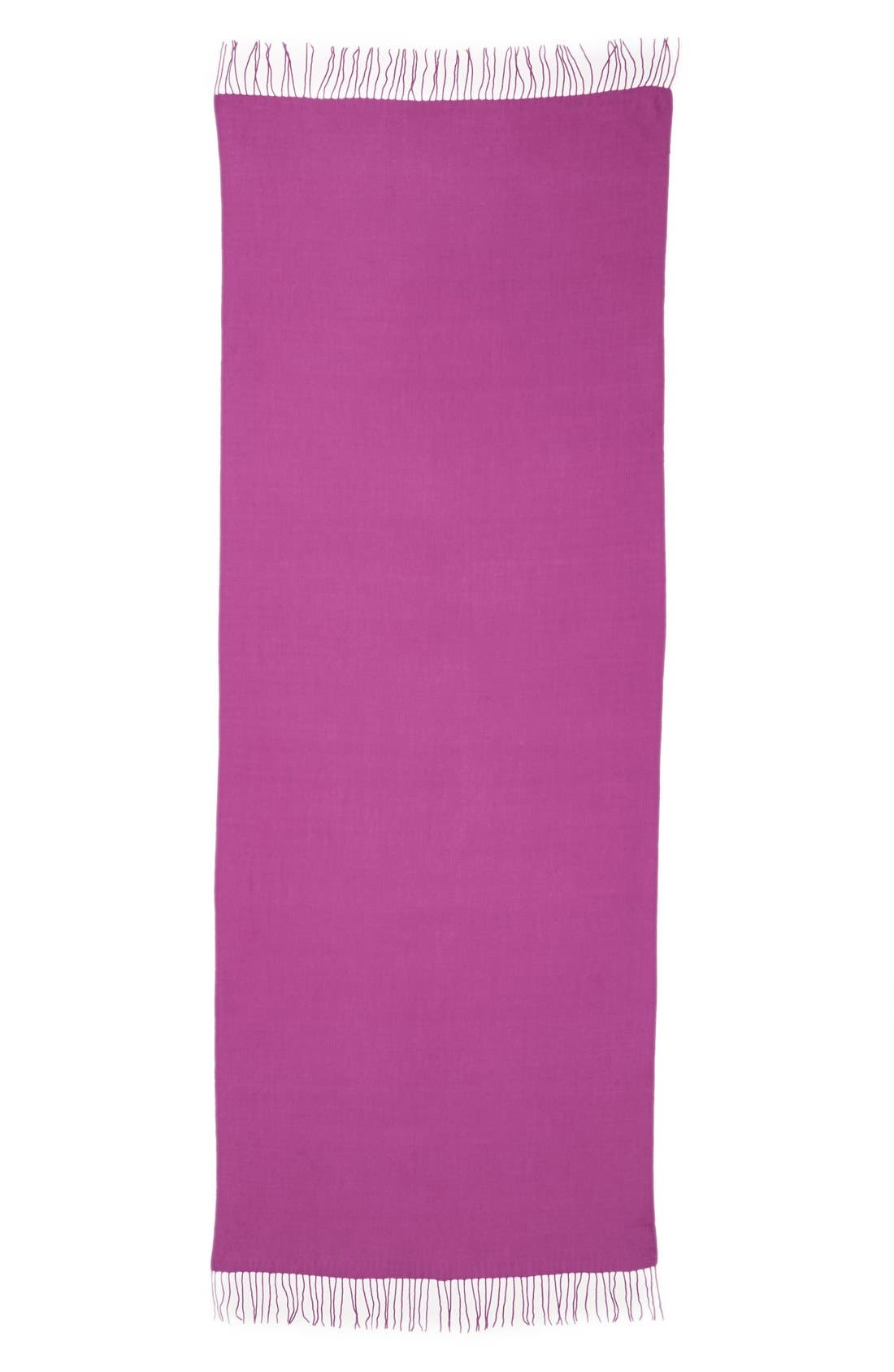Tissue Weight Wool & Cashmere Scarf,                             Alternate thumbnail 185, color,