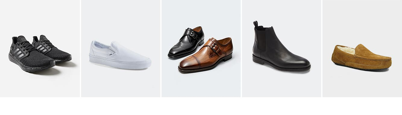 All men's shoes.