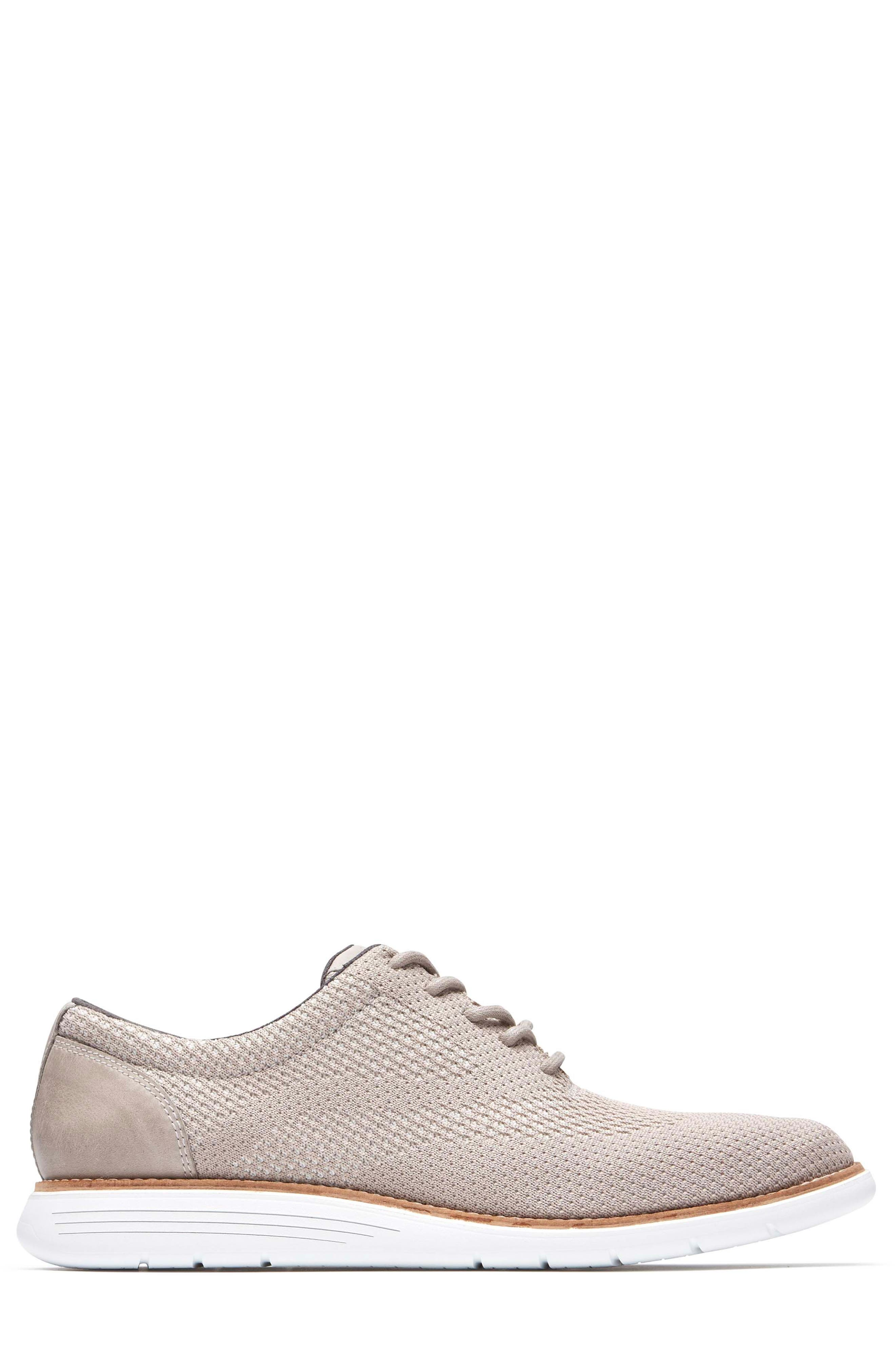 Total Motion Sport Oxford,                             Alternate thumbnail 3, color,                             ROCKSAND LEATHER