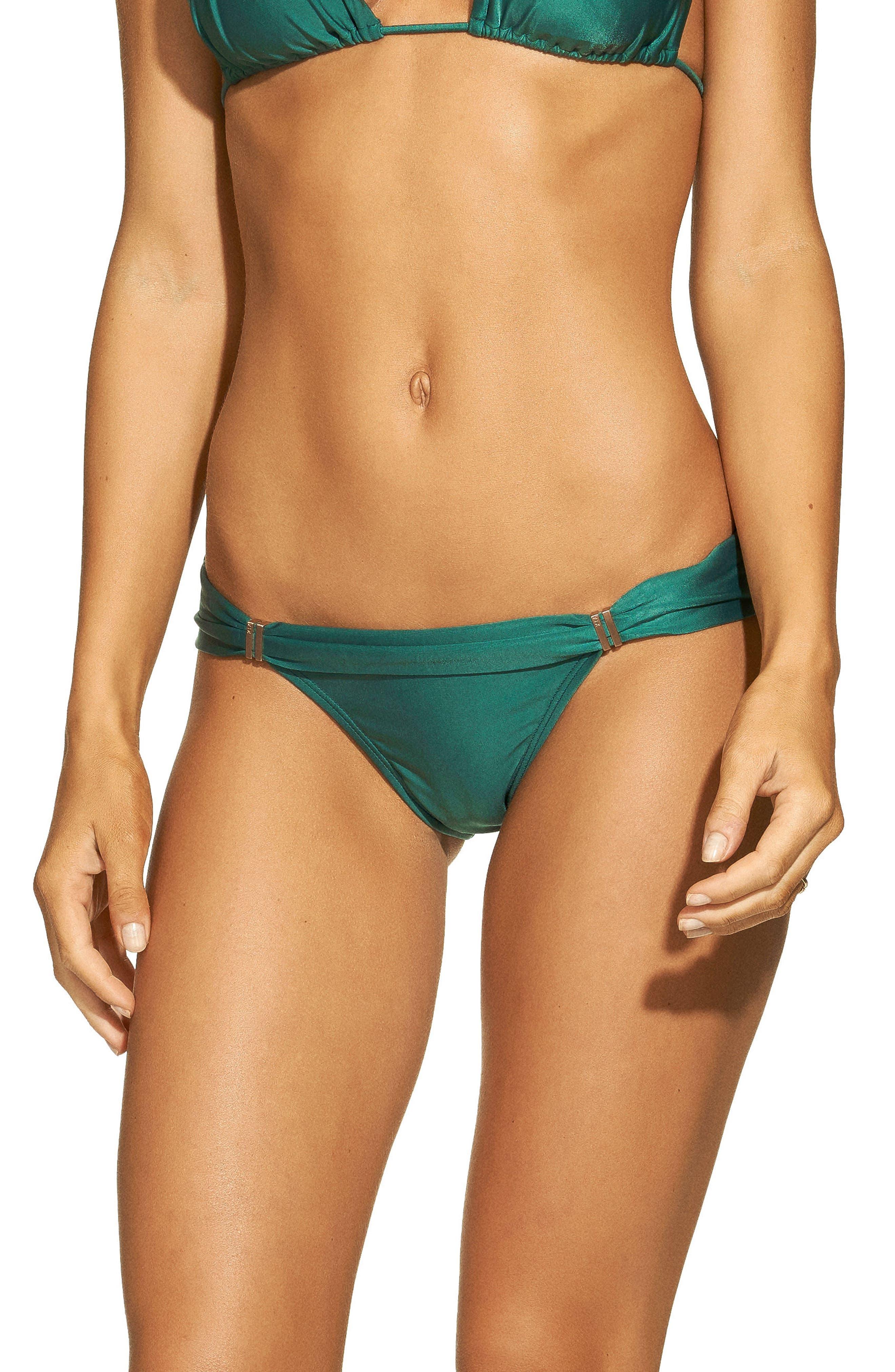 Jasper Bia Bikini Bottoms,                             Main thumbnail 1, color,                             GREEN