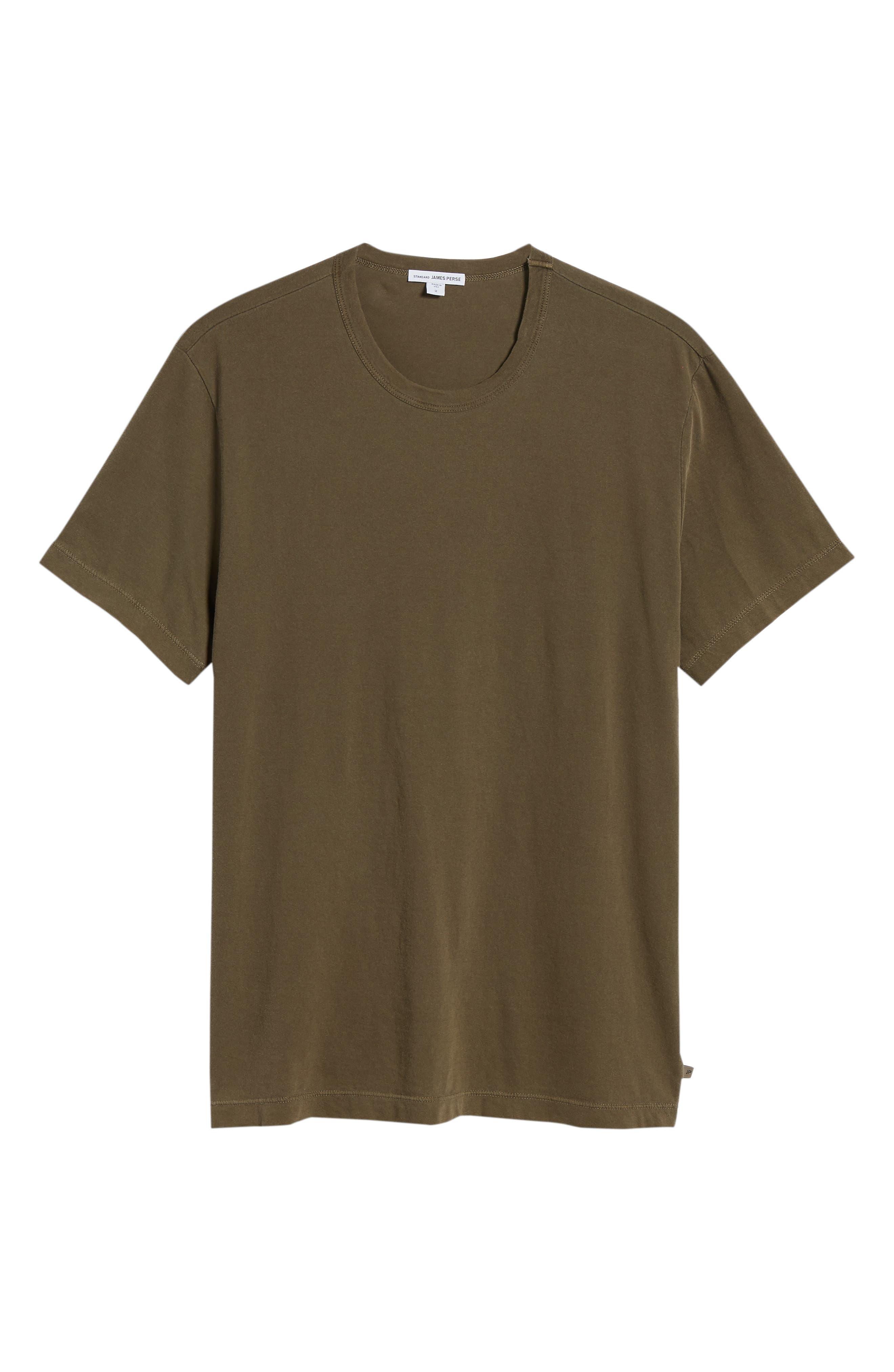 Crewneck Jersey T-Shirt,                             Alternate thumbnail 461, color,