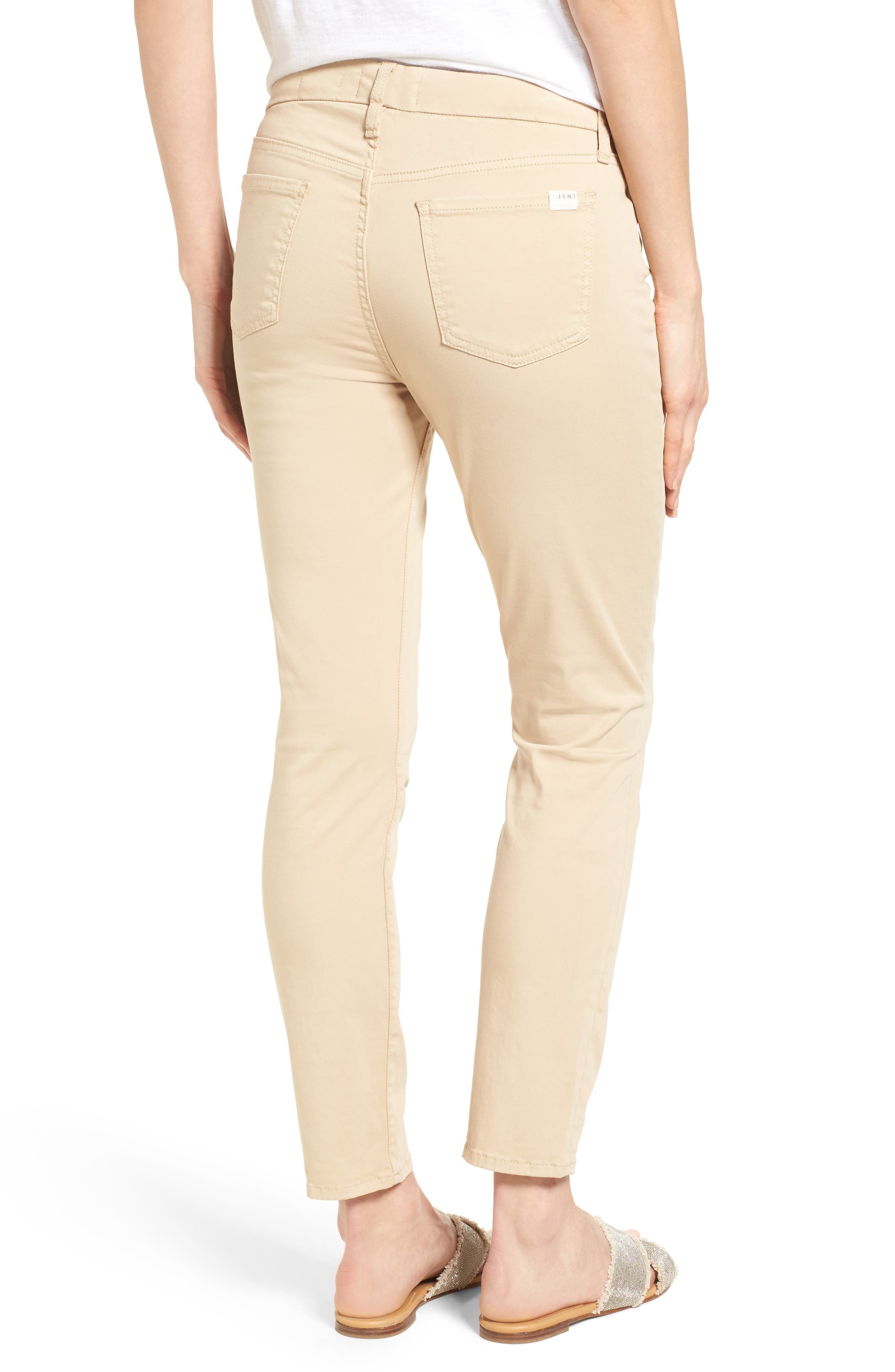 Colored Stretch Ankle Skinny Jeans,                             Alternate thumbnail 2, color,                             251