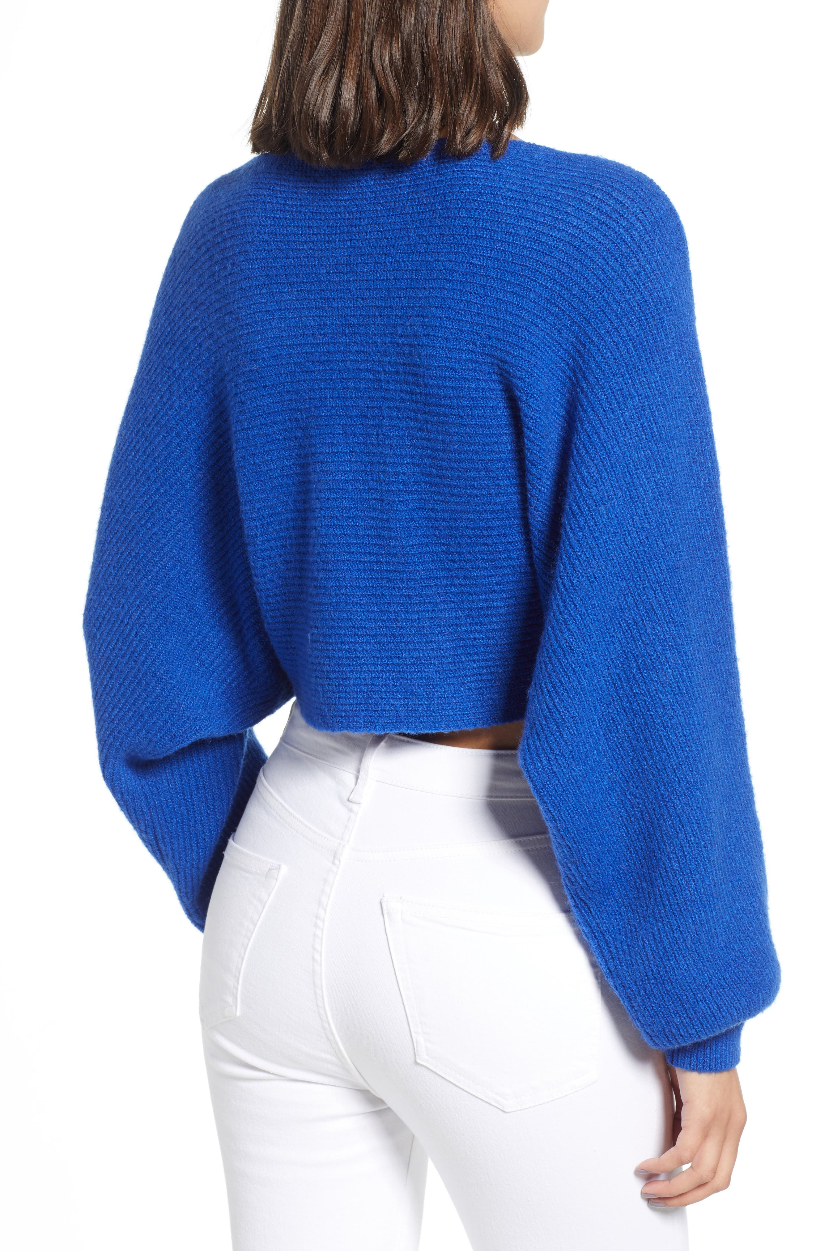 Crop Dolman Pullover,                             Alternate thumbnail 4, color,                             401