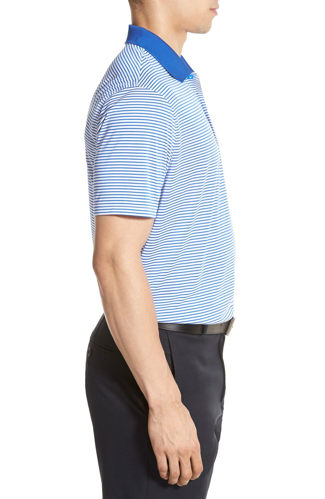 'Victory Stripe' Dri-FIT Golf Polo,                             Alternate thumbnail 21, color,