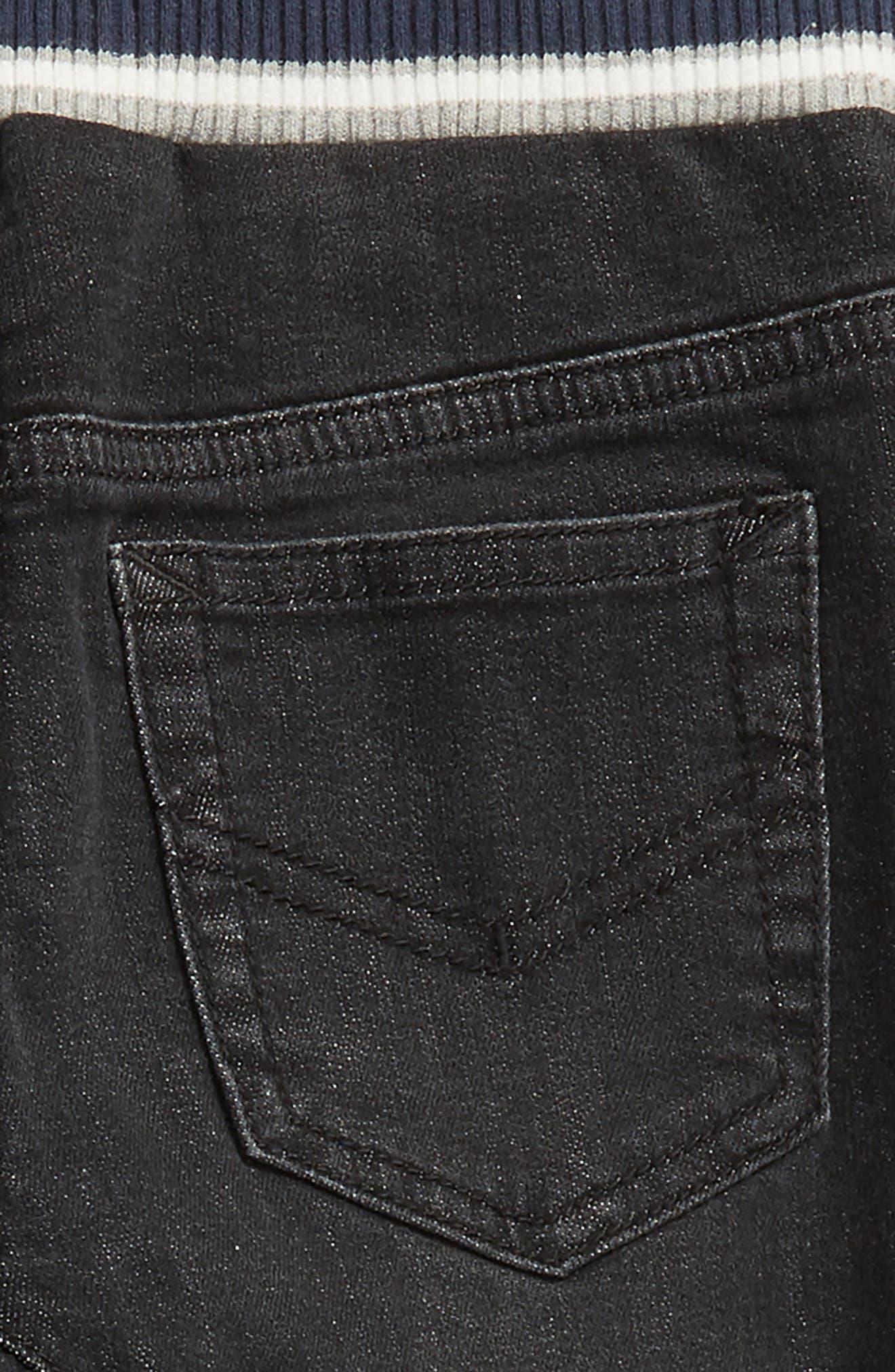 Denim Jogger Pants,                             Alternate thumbnail 3, color,                             001