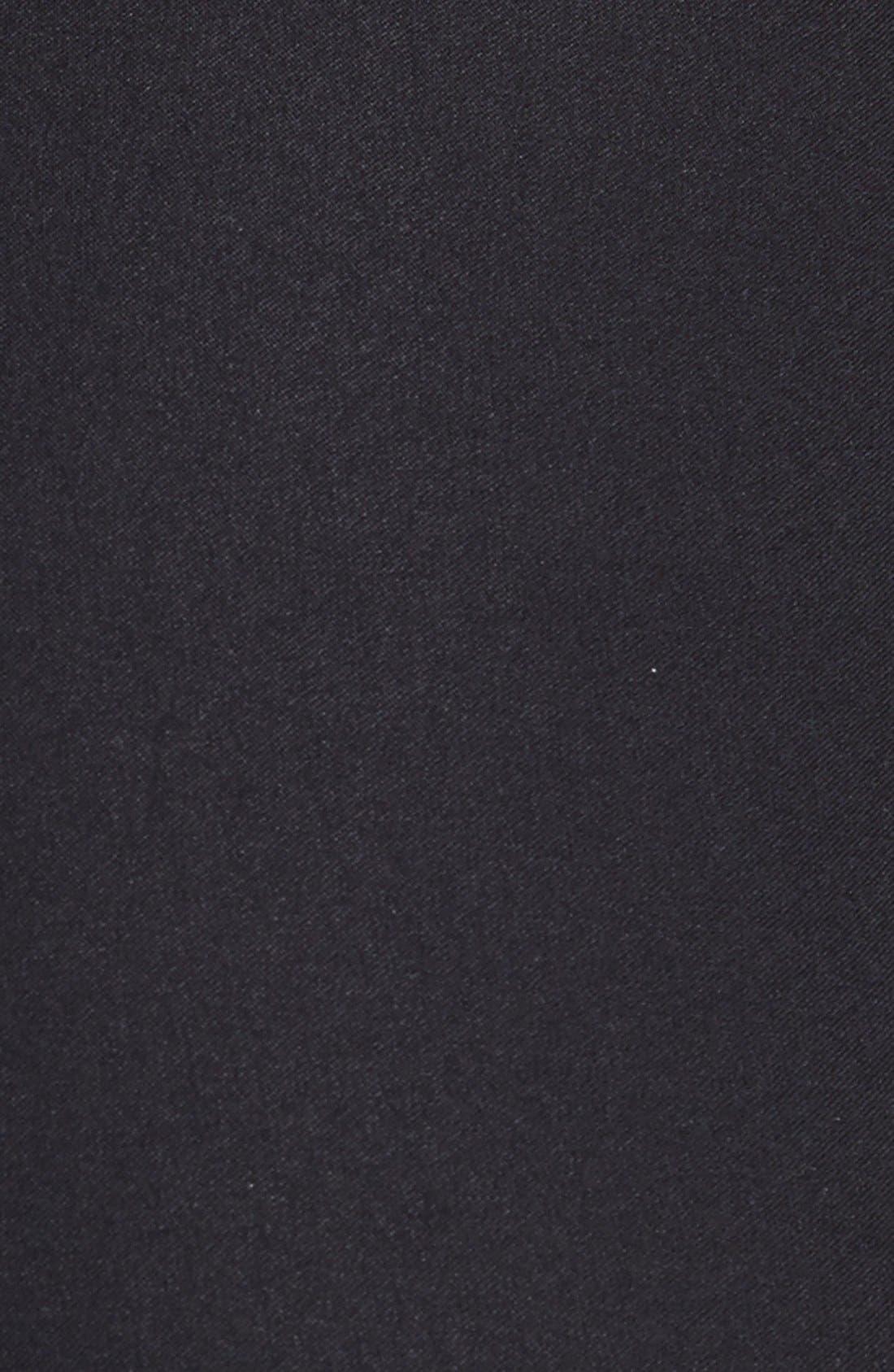 Wonderstretch Straight Leg Pants,                             Alternate thumbnail 9, color,                             BLACK ONYX