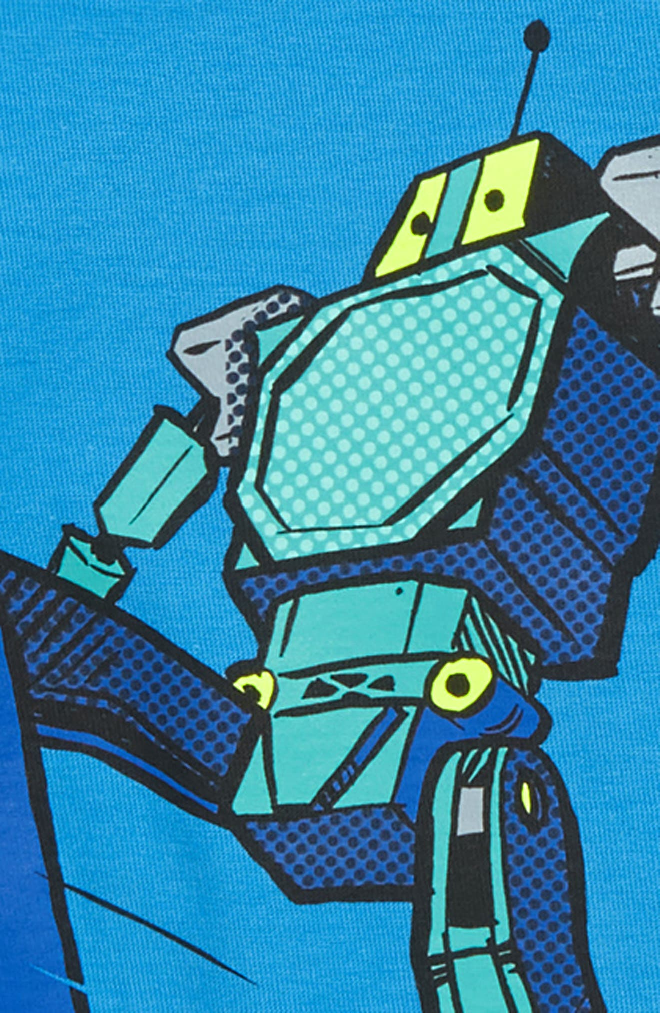 Robot Layer T-Shirt,                             Alternate thumbnail 2, color,                             477