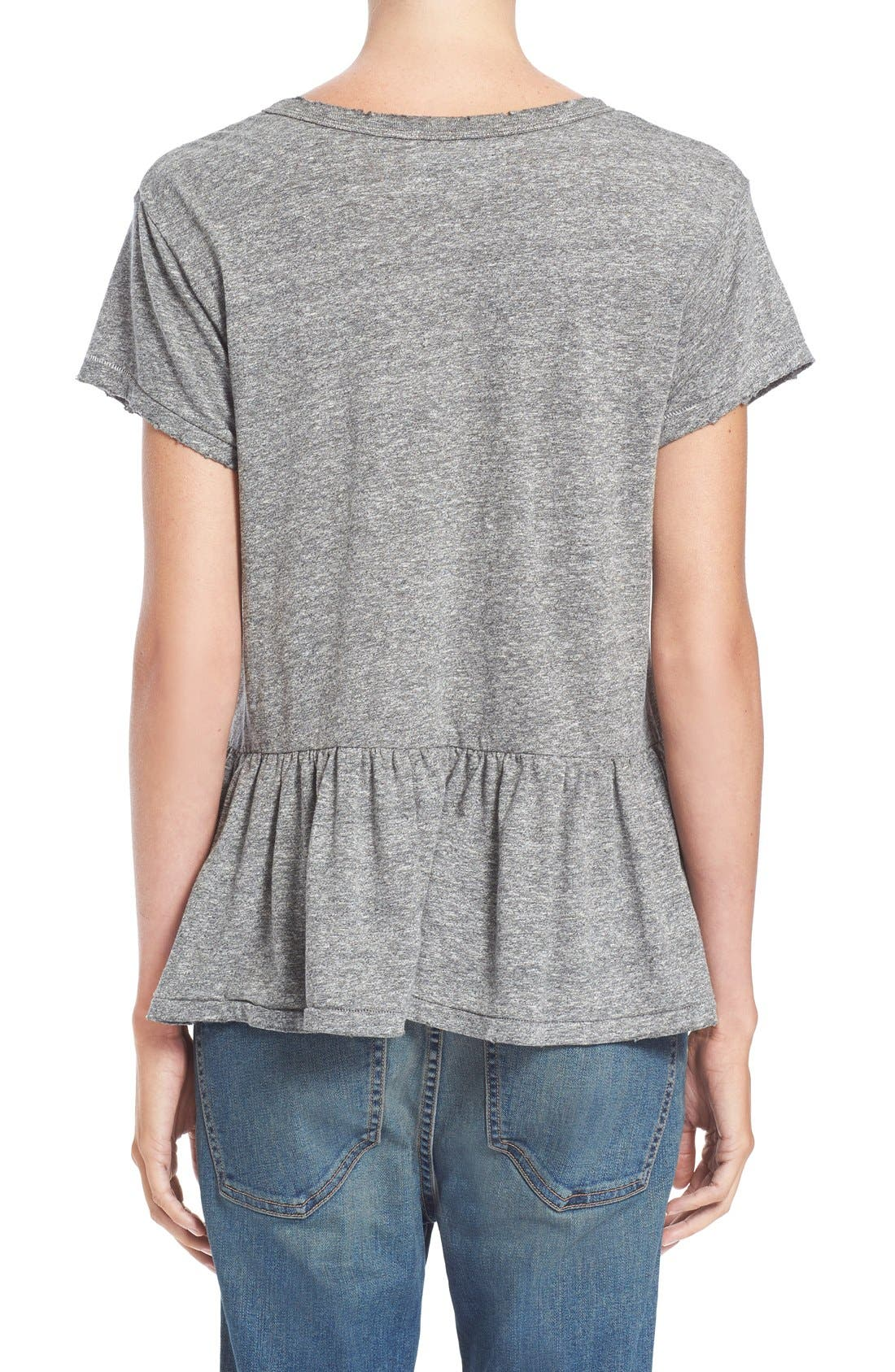 The Ruffle Tee,                             Alternate thumbnail 21, color,