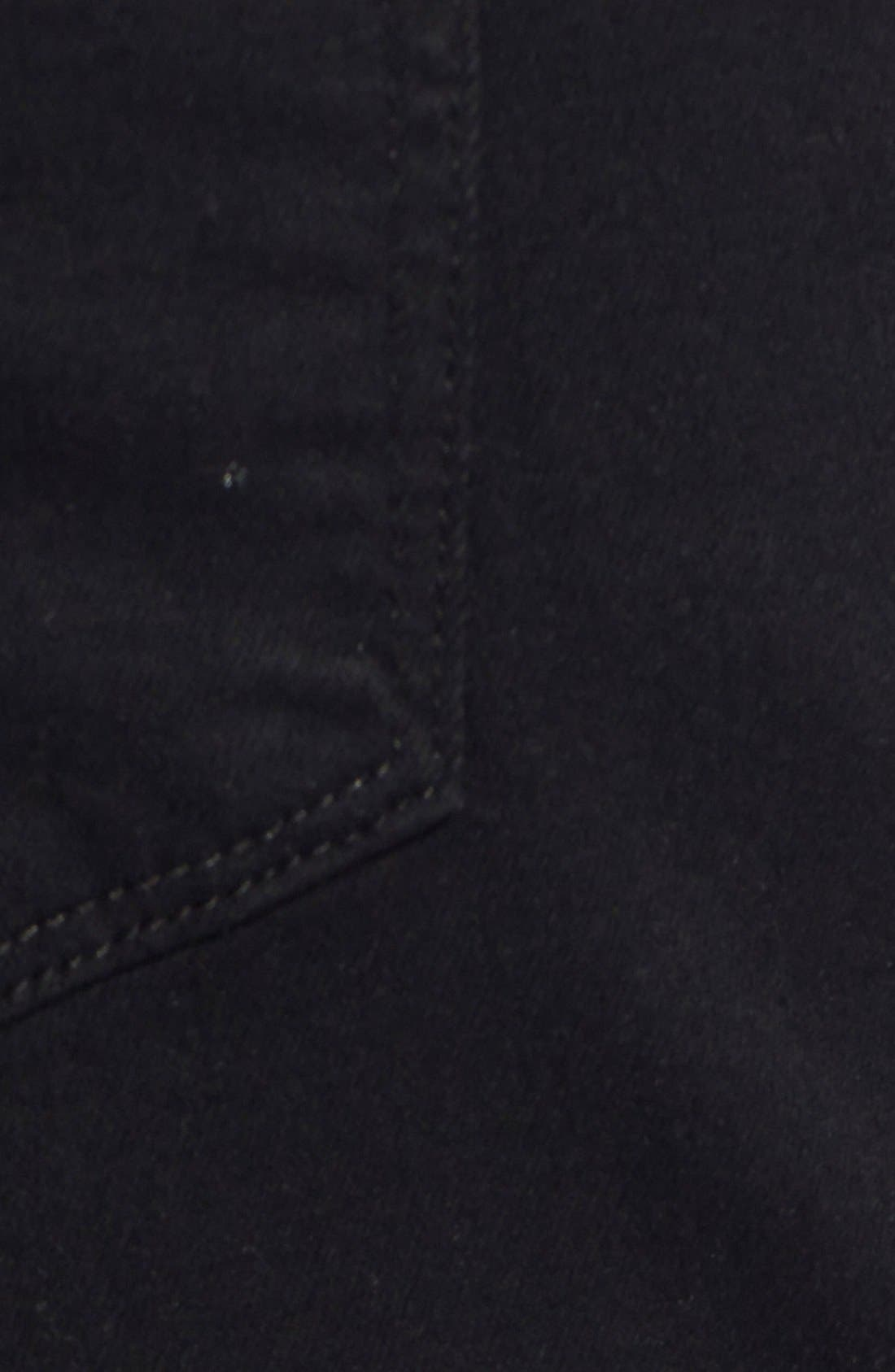 Transcend - Lennox XL Slim Fit Jeans,                             Alternate thumbnail 5, color,                             BLACK