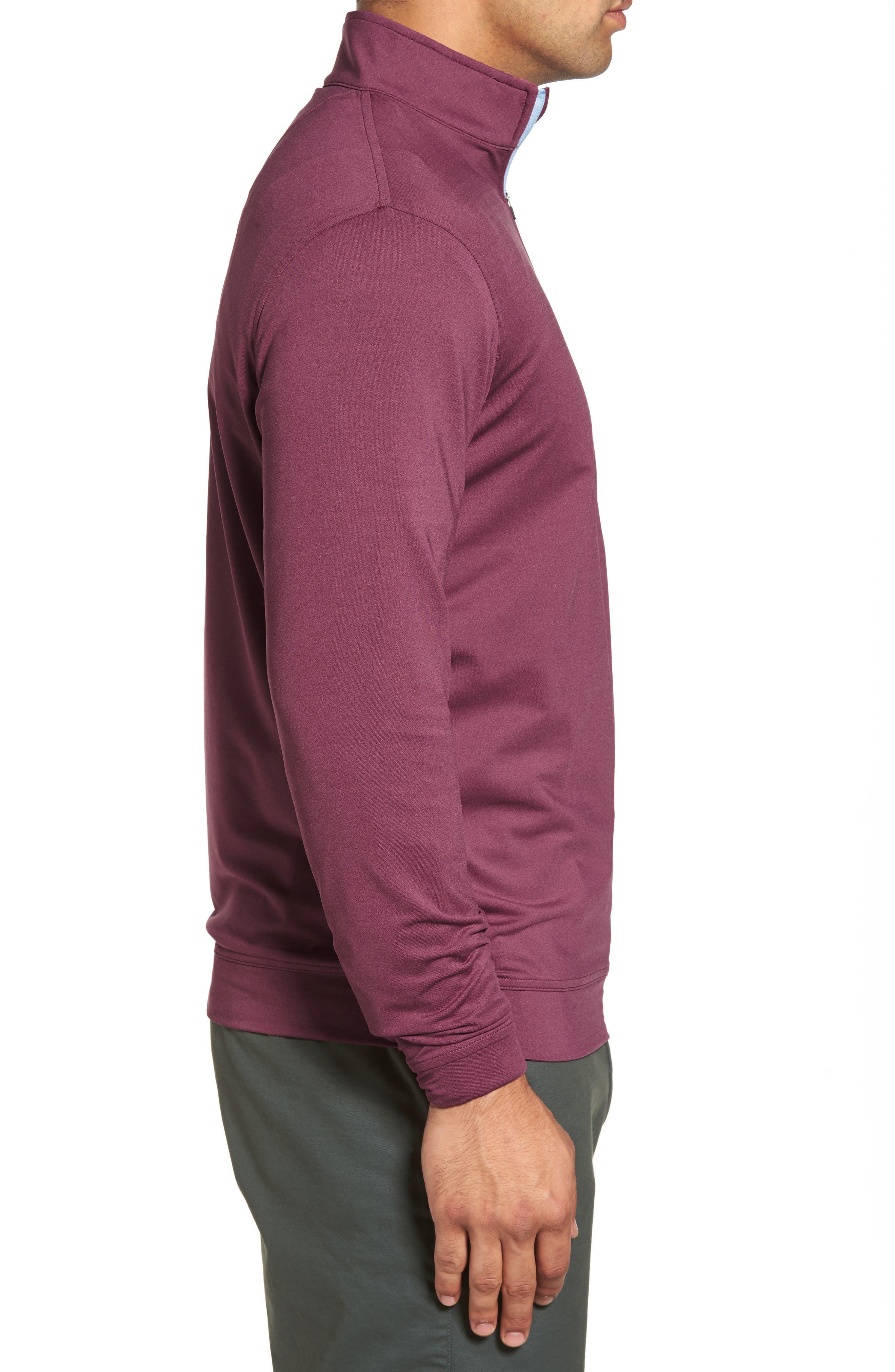 Perth Quarter Zip Stretch Pullover,                             Alternate thumbnail 15, color,