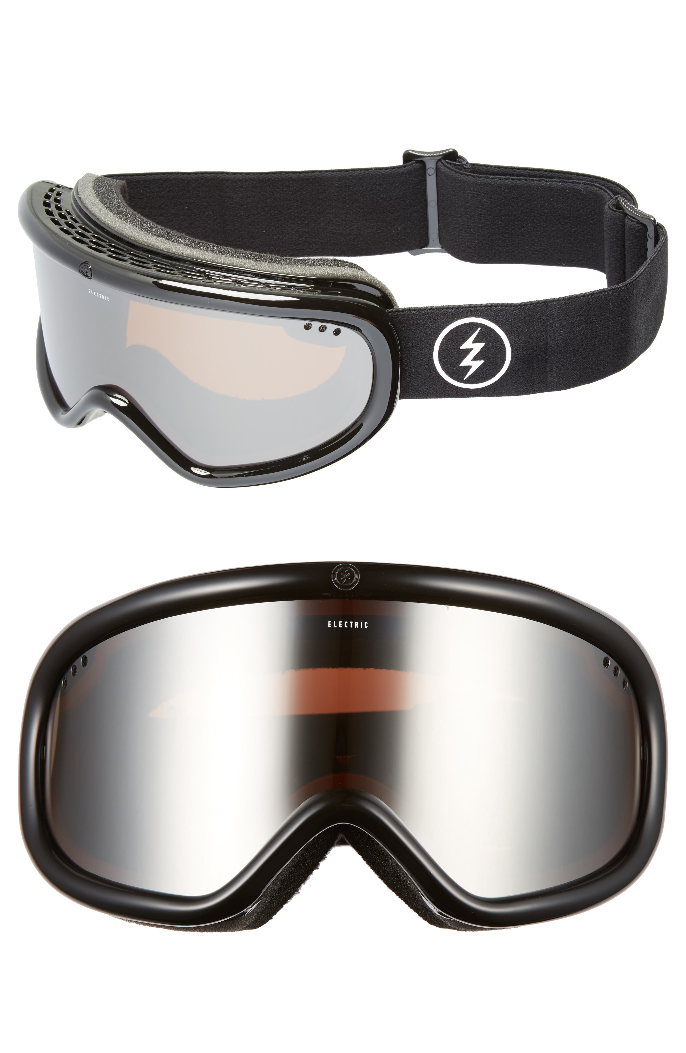 Charger 215mm Snow Goggles,                             Main thumbnail 1, color,                             001