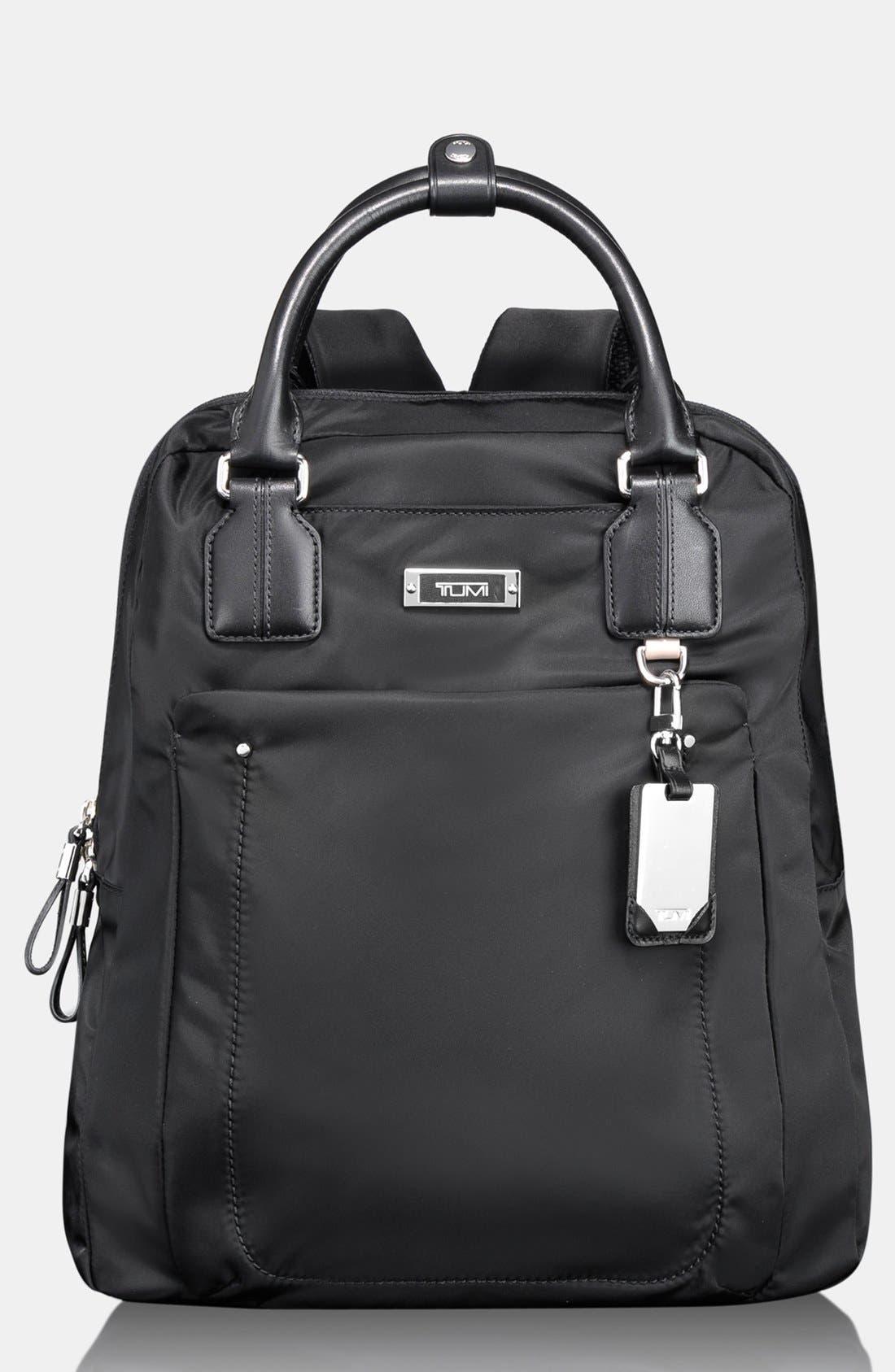 TUMI 'Voyager - Ascot' Convertible Backpack, Main, color, 001