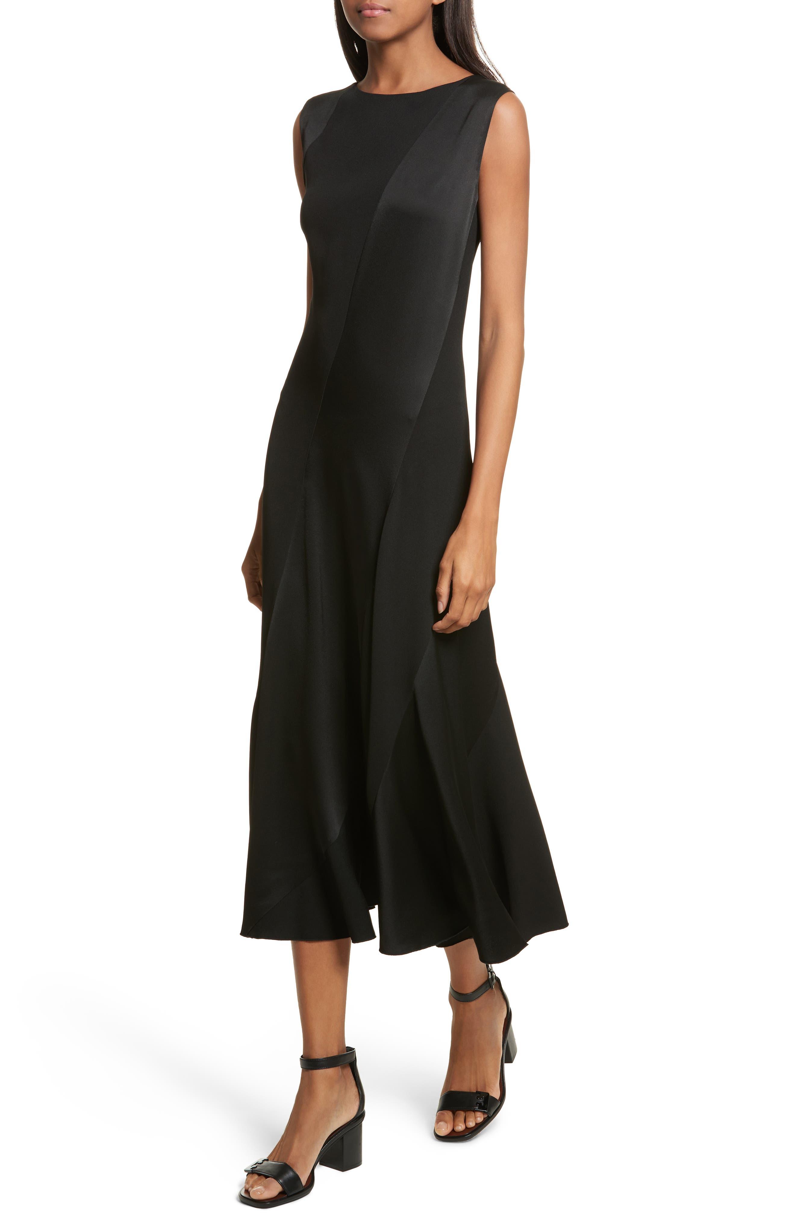 Hailee Sleeveless Midi Dress,                             Alternate thumbnail 4, color,