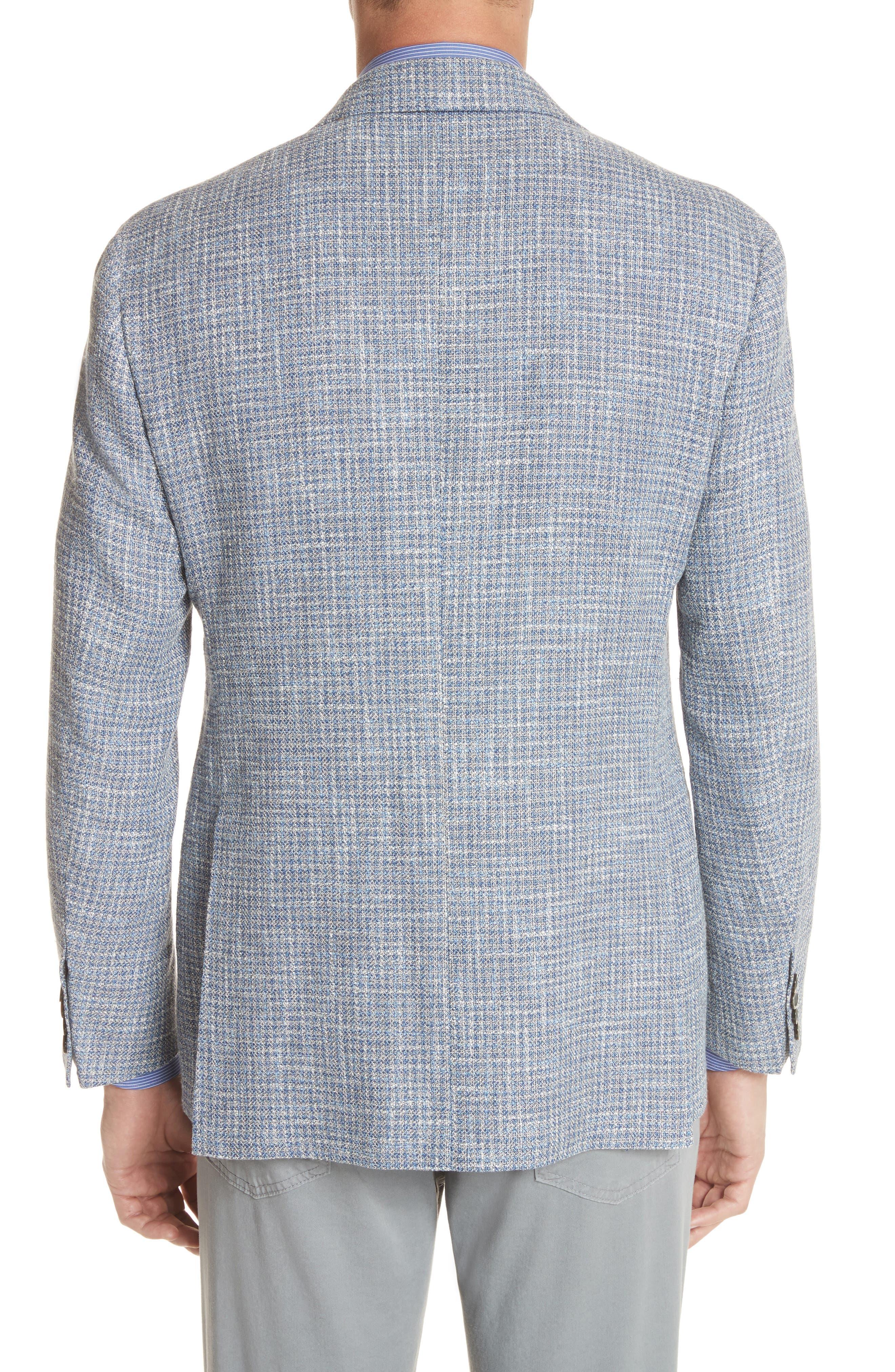CANALI,                             Kei Classic Fit Check Sport Coat,                             Alternate thumbnail 2, color,                             400