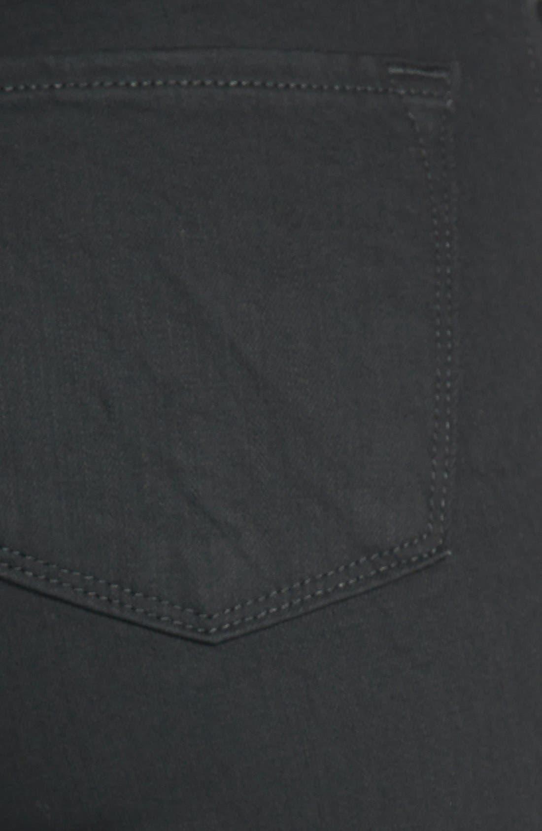 '811' Mid Rise Skinny Jeans,                             Alternate thumbnail 4, color,