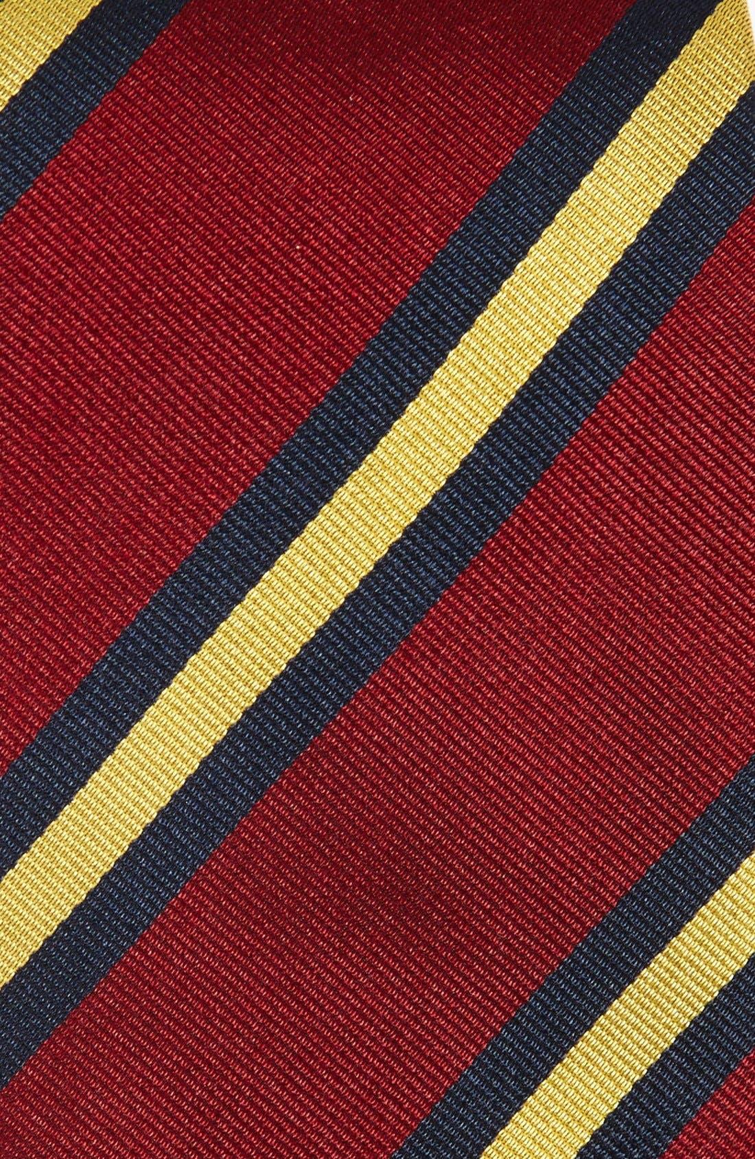 GITMAN,                             Stripe Silk Tie,                             Alternate thumbnail 2, color,                             930